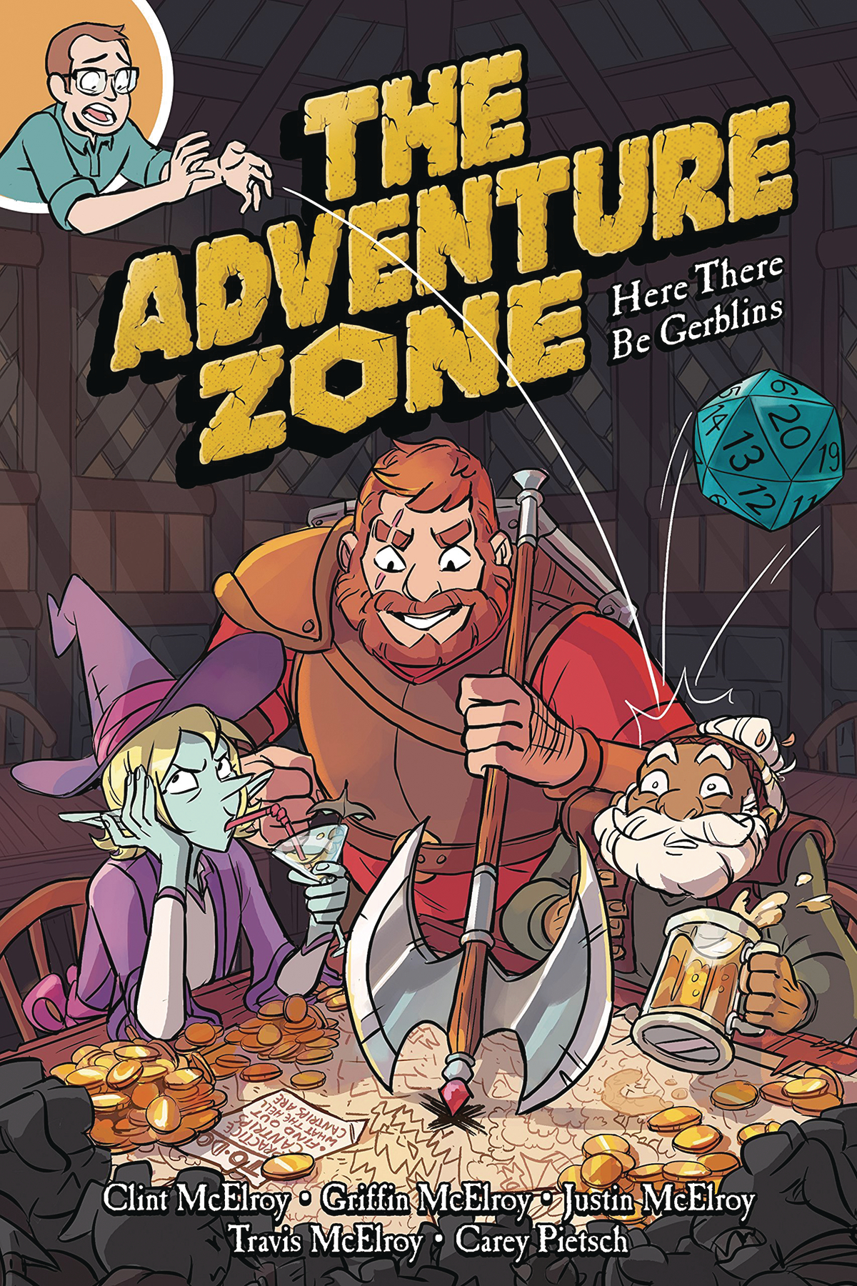 The Adventure Zone – Here There Be Gerblins Graphic Novel