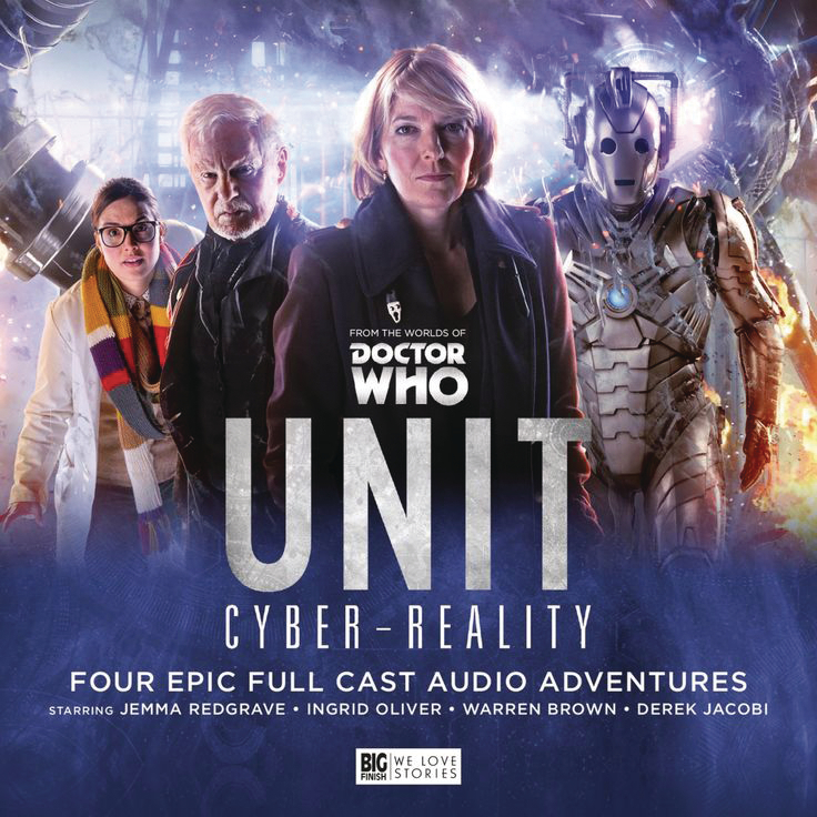 DOCTOR WHO UNIT AUDIO CD SET #6 CYBER REALITY