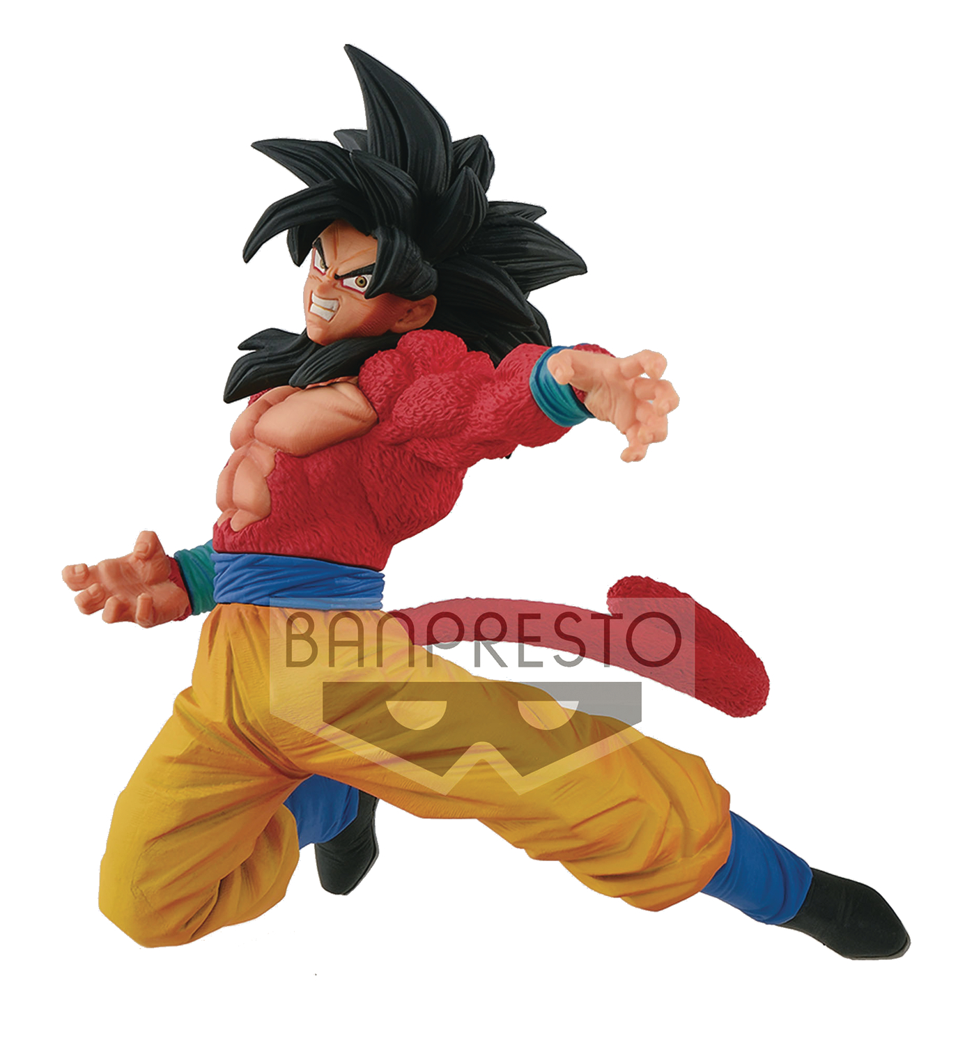 DRAGONBALL SUPER SON GOKU FES V6 SS4 SON GOKU SPEC FIG
