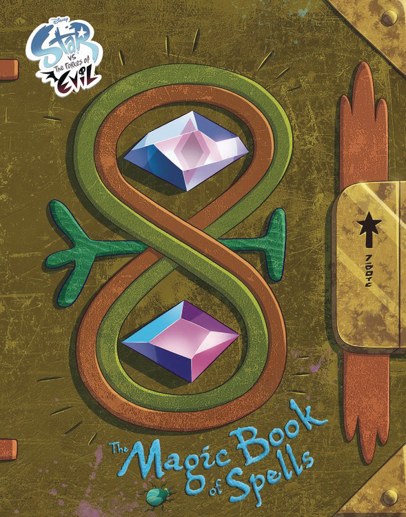 DISNEY STAR VS FORCES OF EVIL MAGIC BOOK OF SPELLS HC (RES)
