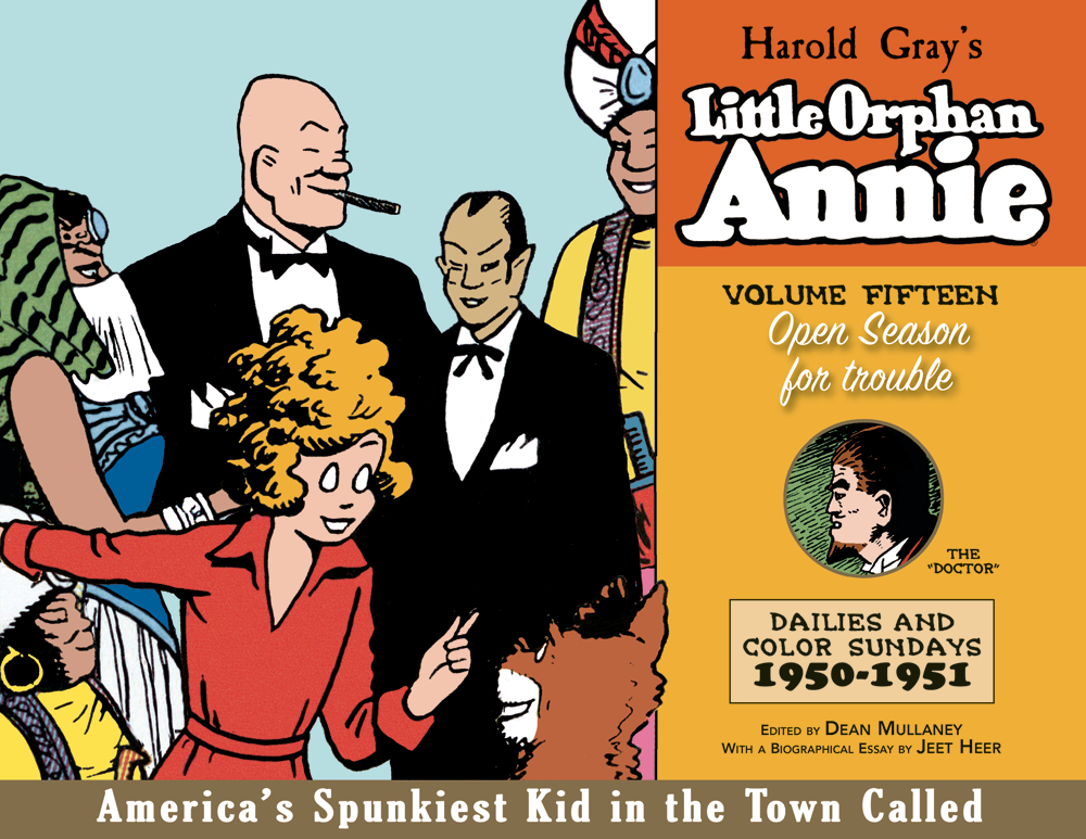 COMPLETE LITTLE ORPHAN ANNIE HC VOL 15