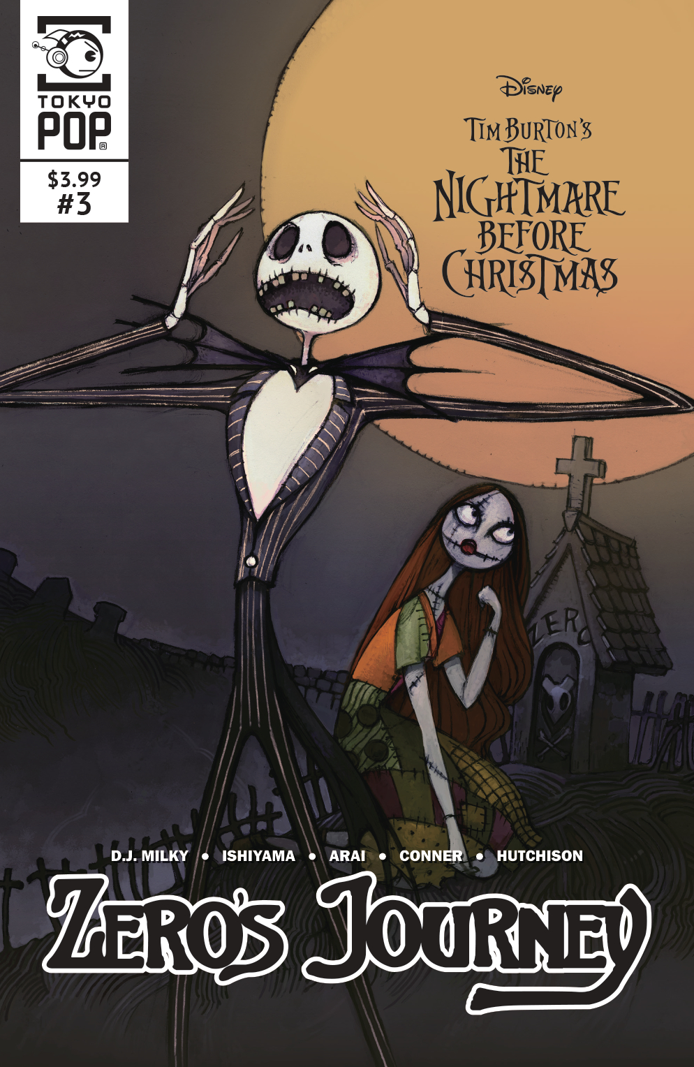 nightmare before christmas zeros journey 3 - A Nightmare Before Christmas 2