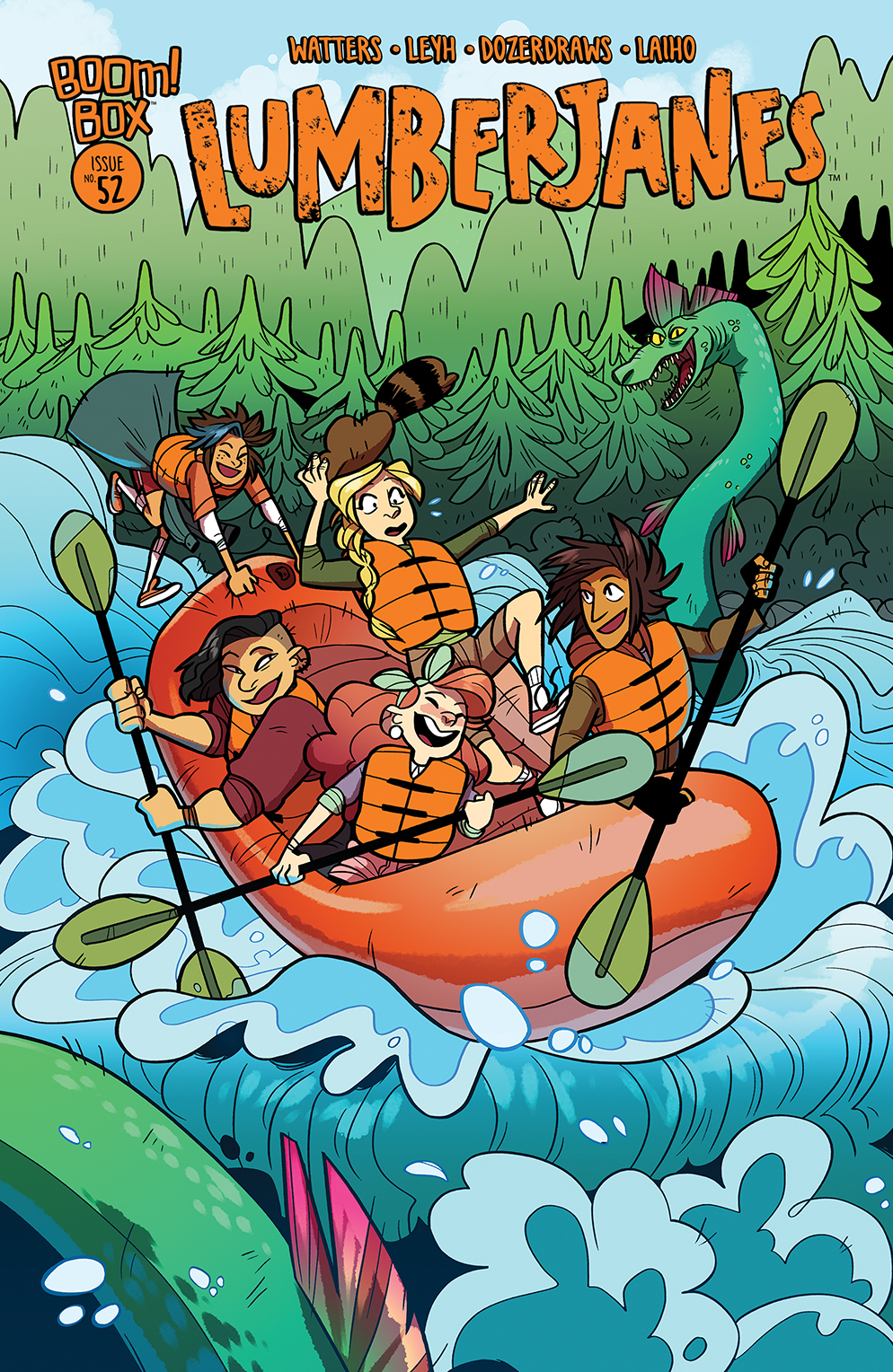 LUMBERJANES #52 SUBSCRIPTION DOZERDRAWS VAR