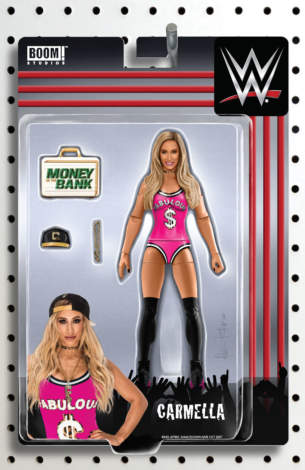 WWE #19 RICHES ACTION FIGURE VAR