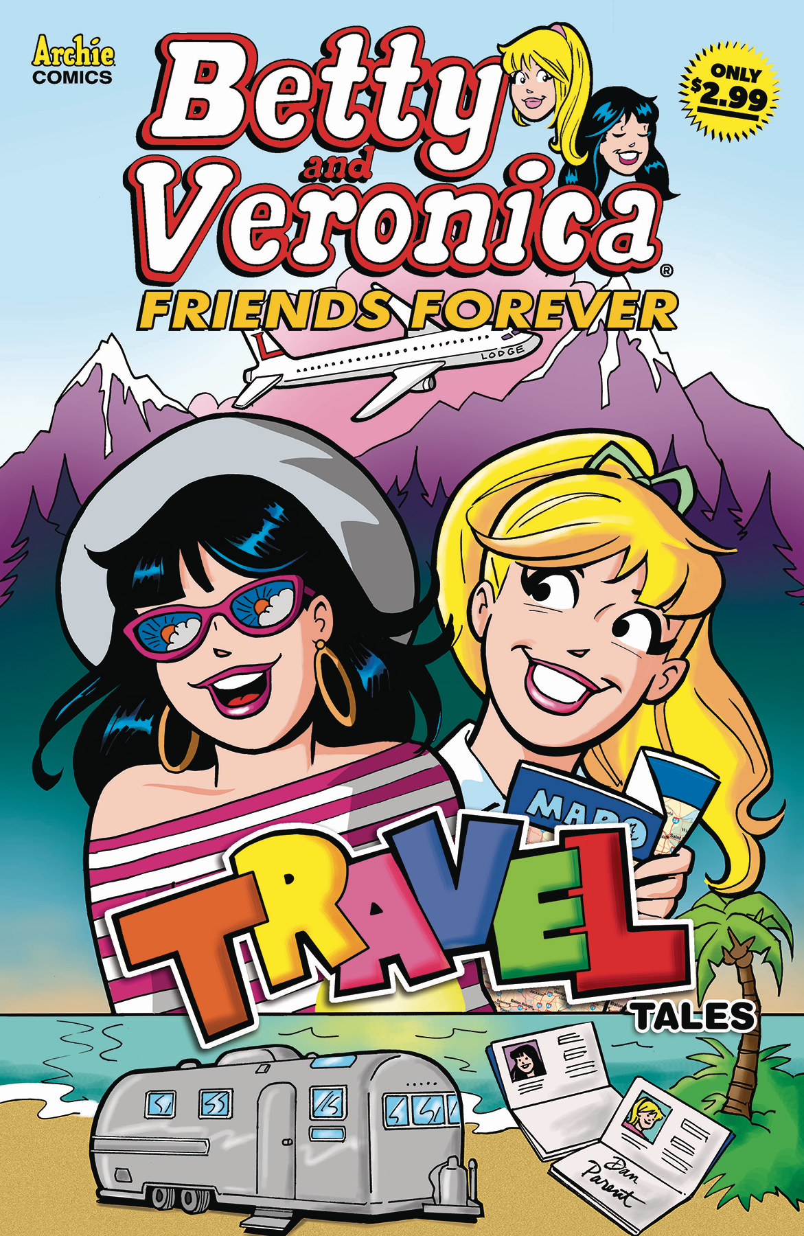 BETTY AND VERONICA FRIENDS FOREVER TRAVEL TALES #2