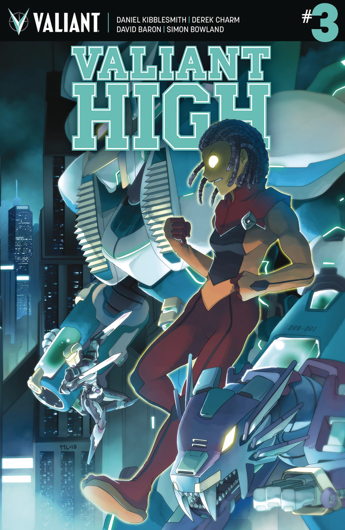 VALIANT HIGH #3 (OF 4) CVR B 10 COPY INCV LEE