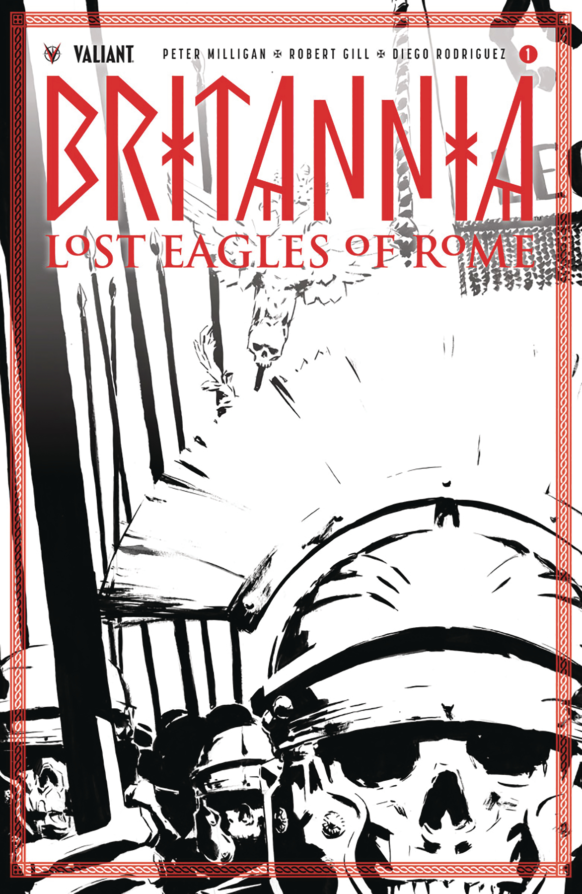 BRITANNIA LOST EAGLES OF ROME #1 (OF 4) CVR D 50 COPY INCV N