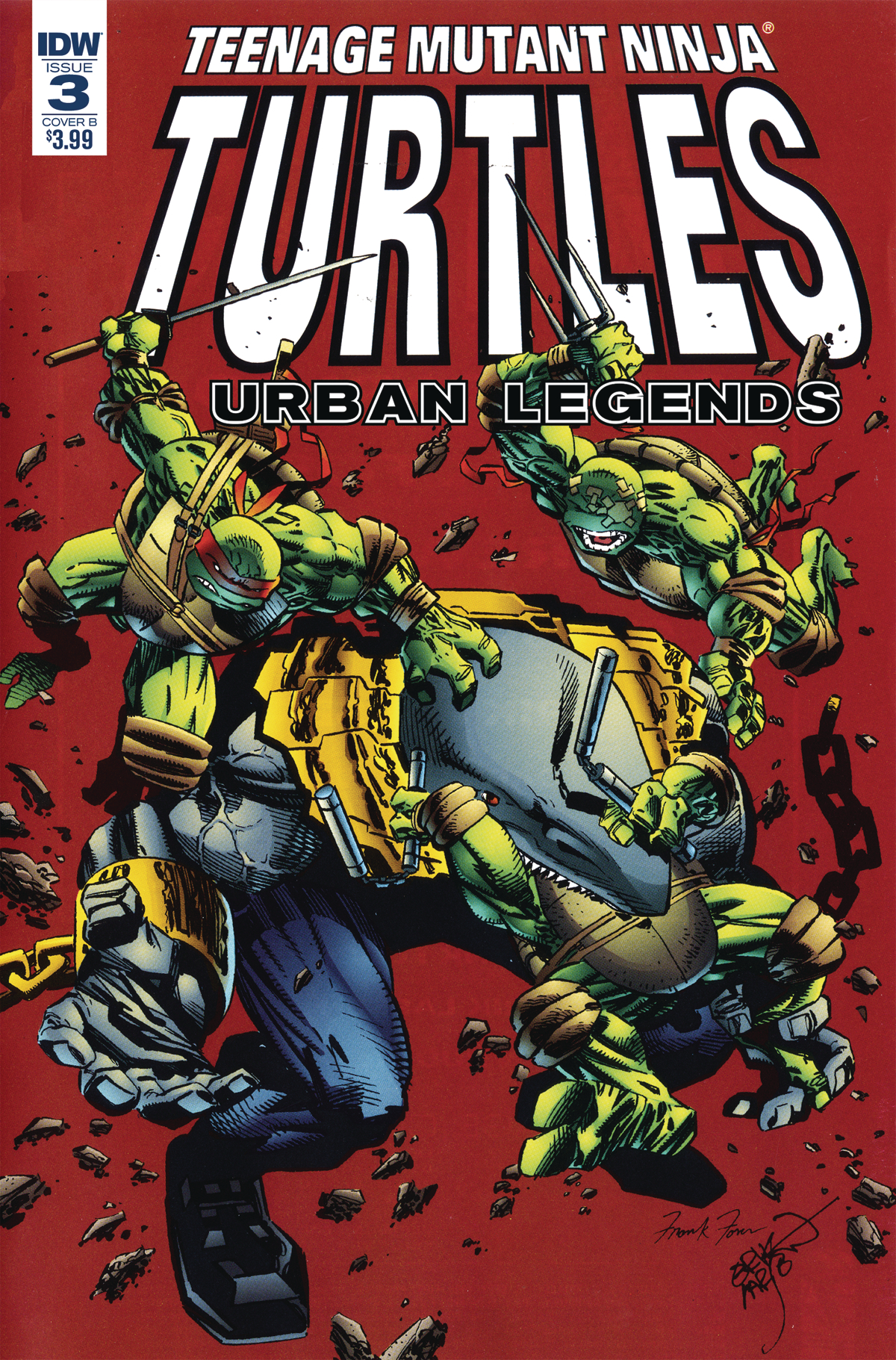 TMNT URBAN LEGENDS #3 CVR B FOSCO