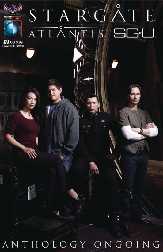 STARGATE ATLANTIS UNIVERSE ANTHOLOGY ONGOING #1 SGA PHOTO CV