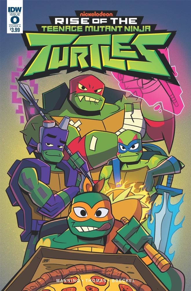 RISE OF THE TMNT #0 CVR A THOMAS