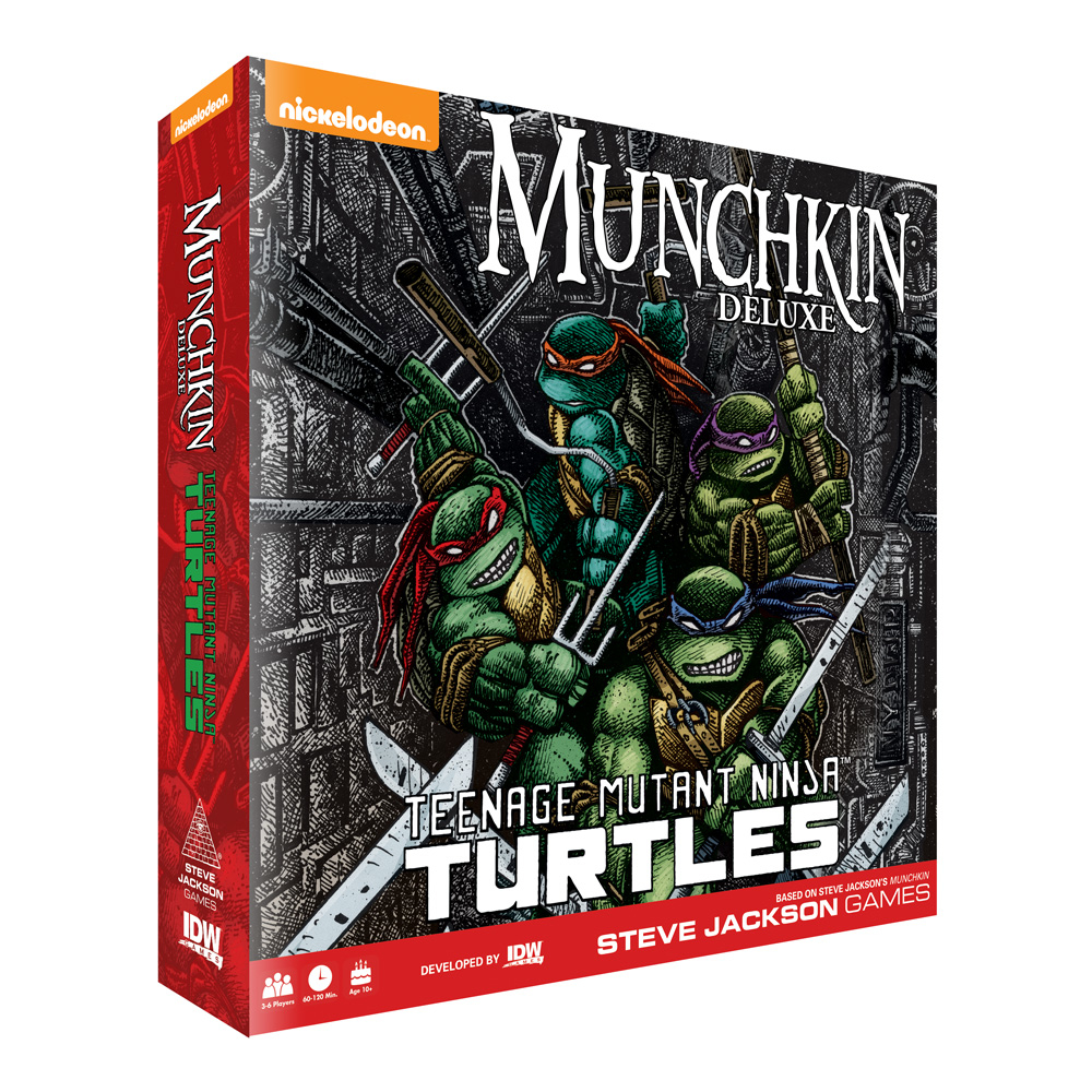TEENAGE MUTANT NINJA TURTLES MUNCHKIN