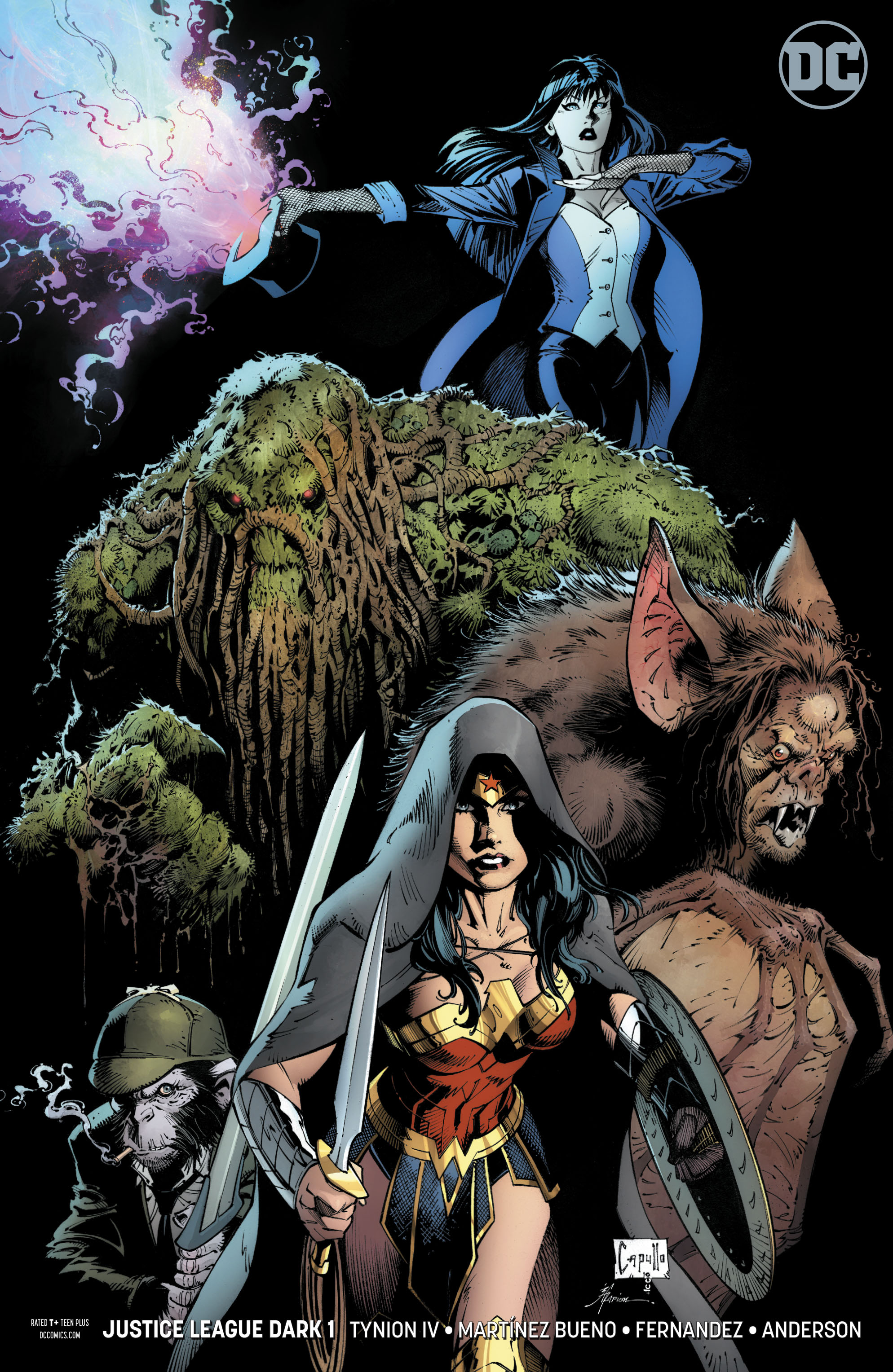 JUSTICE LEAGUE DARK #1 VAR ED