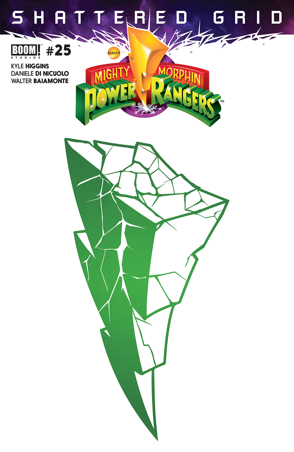 MIGHTY MORPHIN POWER RANGERS #25 (2ND PTG)