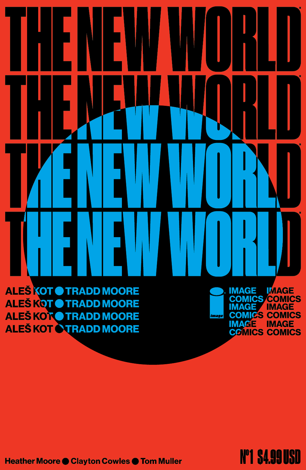 NEW WORLD #1 (OF 5) CVR D MULLER (MR)