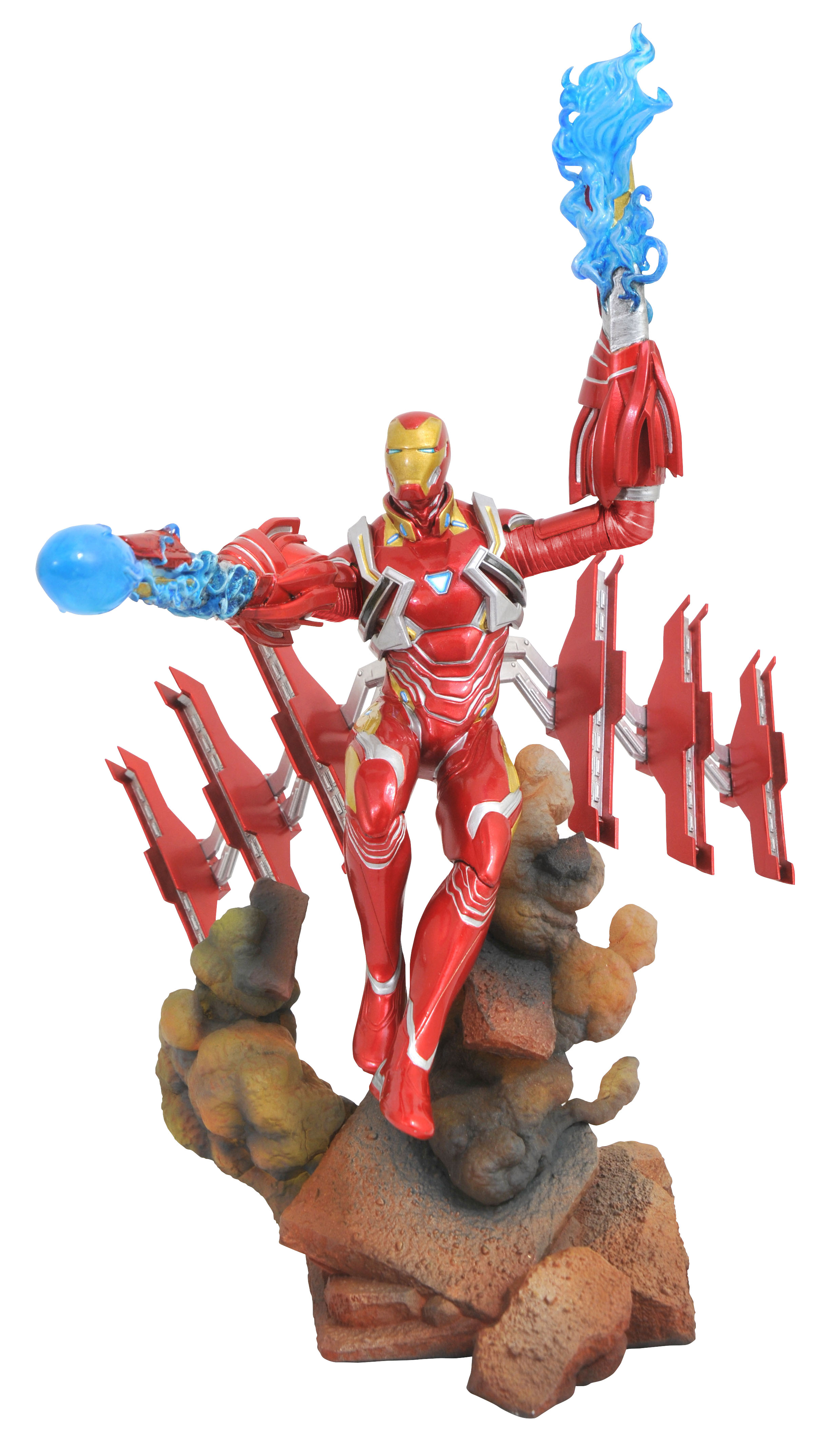 MARVEL GALLERY AVENGERS 3 IRON MAN MK50 PVC FIGURE
