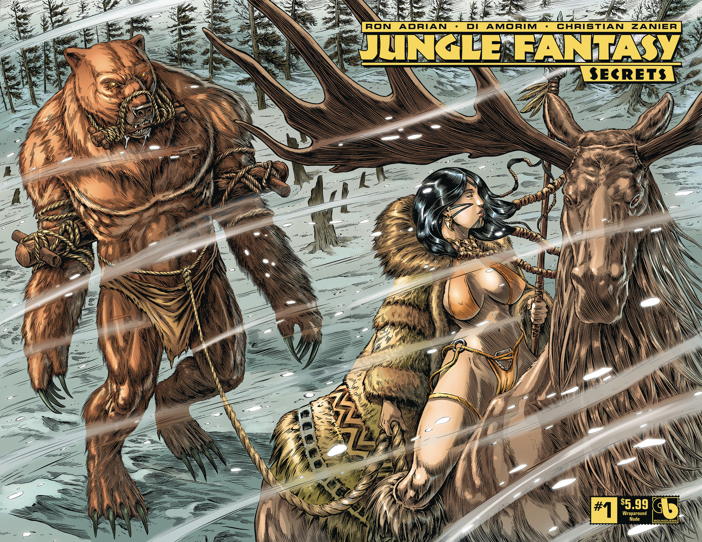 JUNGLE FANTASY SECRETS #1 WRAP (MR)