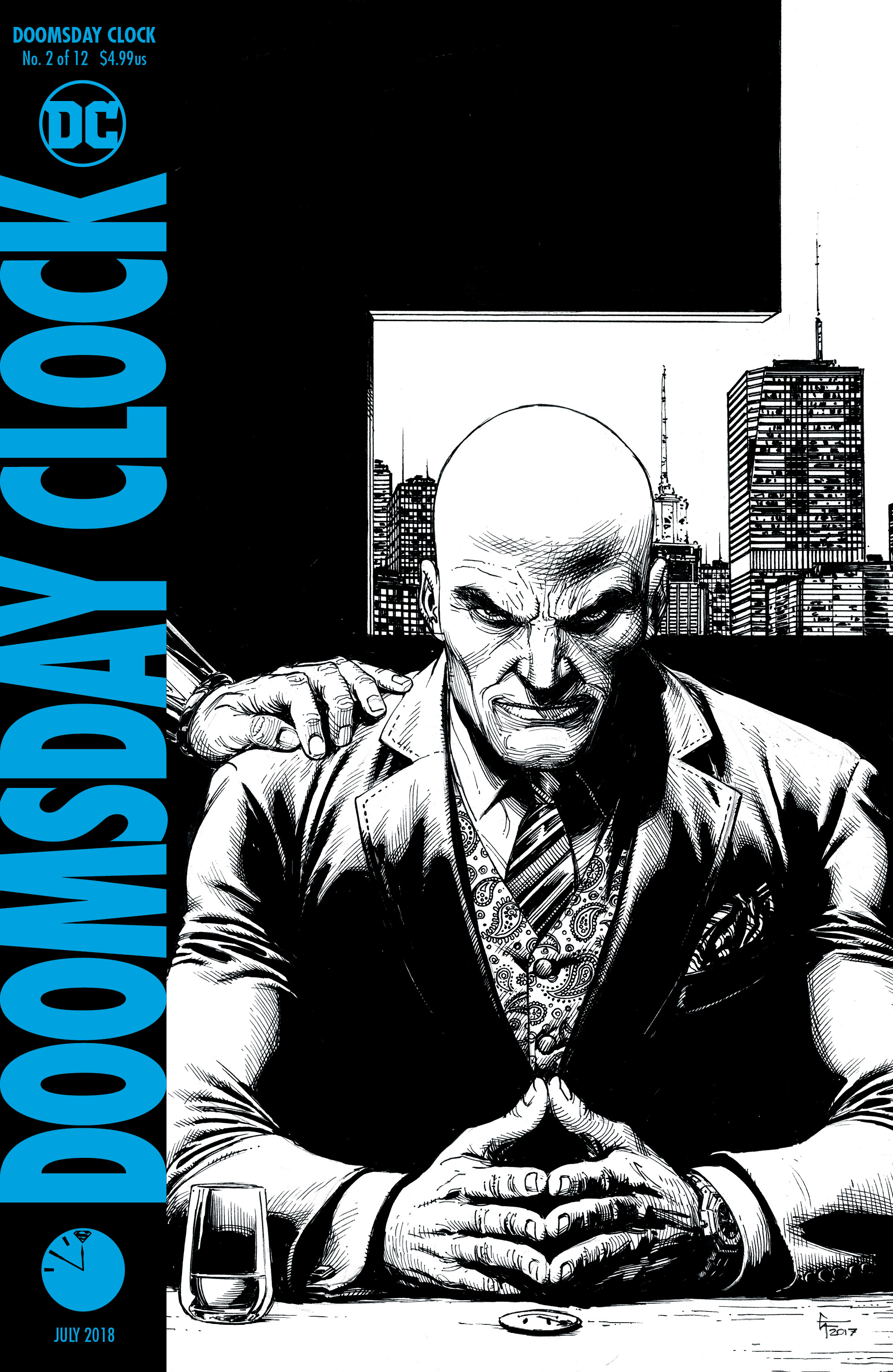 DOOMSDAY CLOCK #2 (OF 12) 2ND PTG