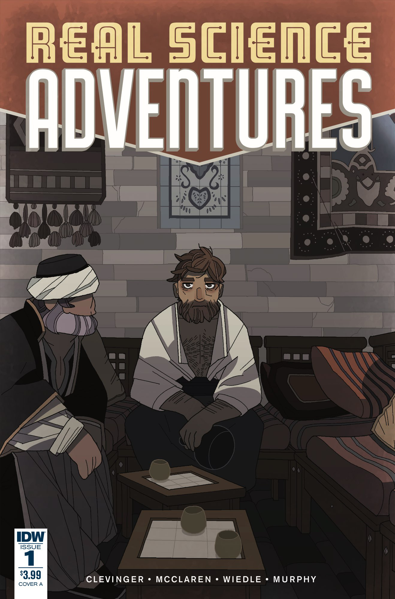 REAL SCIENCE ADVENTURES NICODEMUS JOB #1 CVR A MCCLAREN