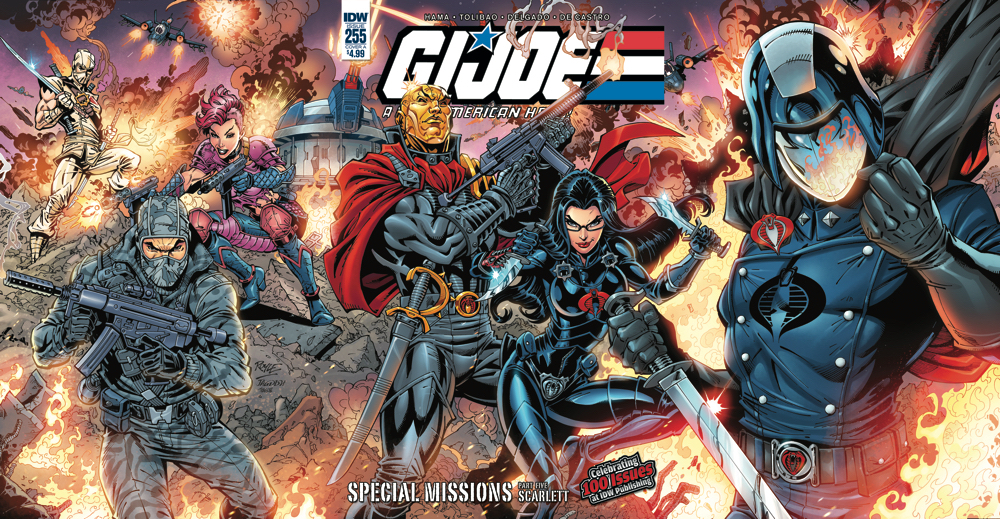 GI JOE A REAL AMERICAN HERO #255 CVR A TOLIBAO