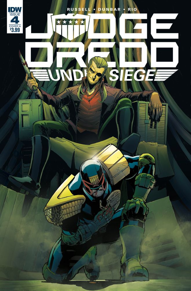JUDGE DREDD UNDER SIEGE #4 (OF 4) CVR A DUNBAR