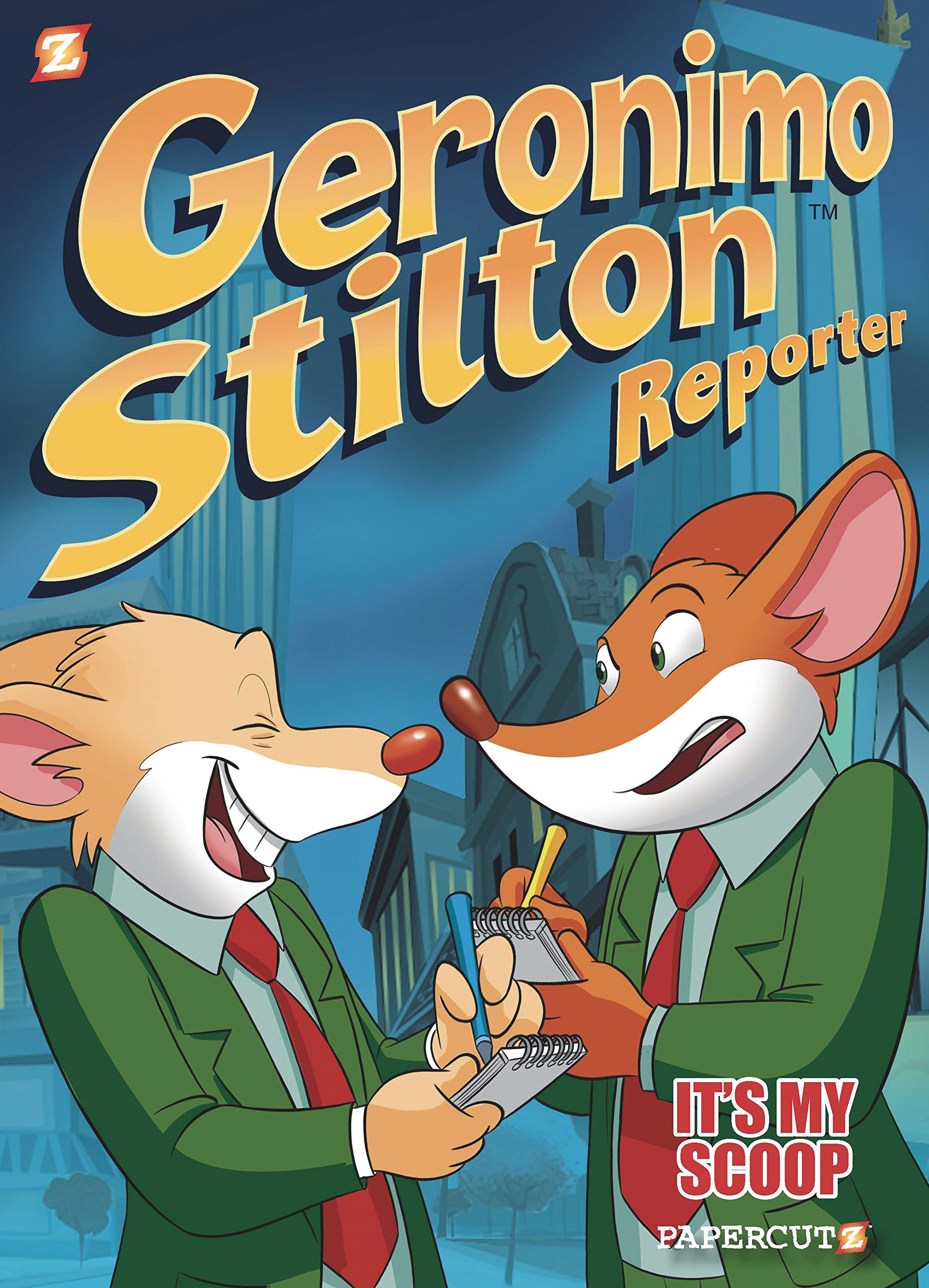 GERONIMO STILTON REPORTER HC VOL 02 ITS MY SCOOP