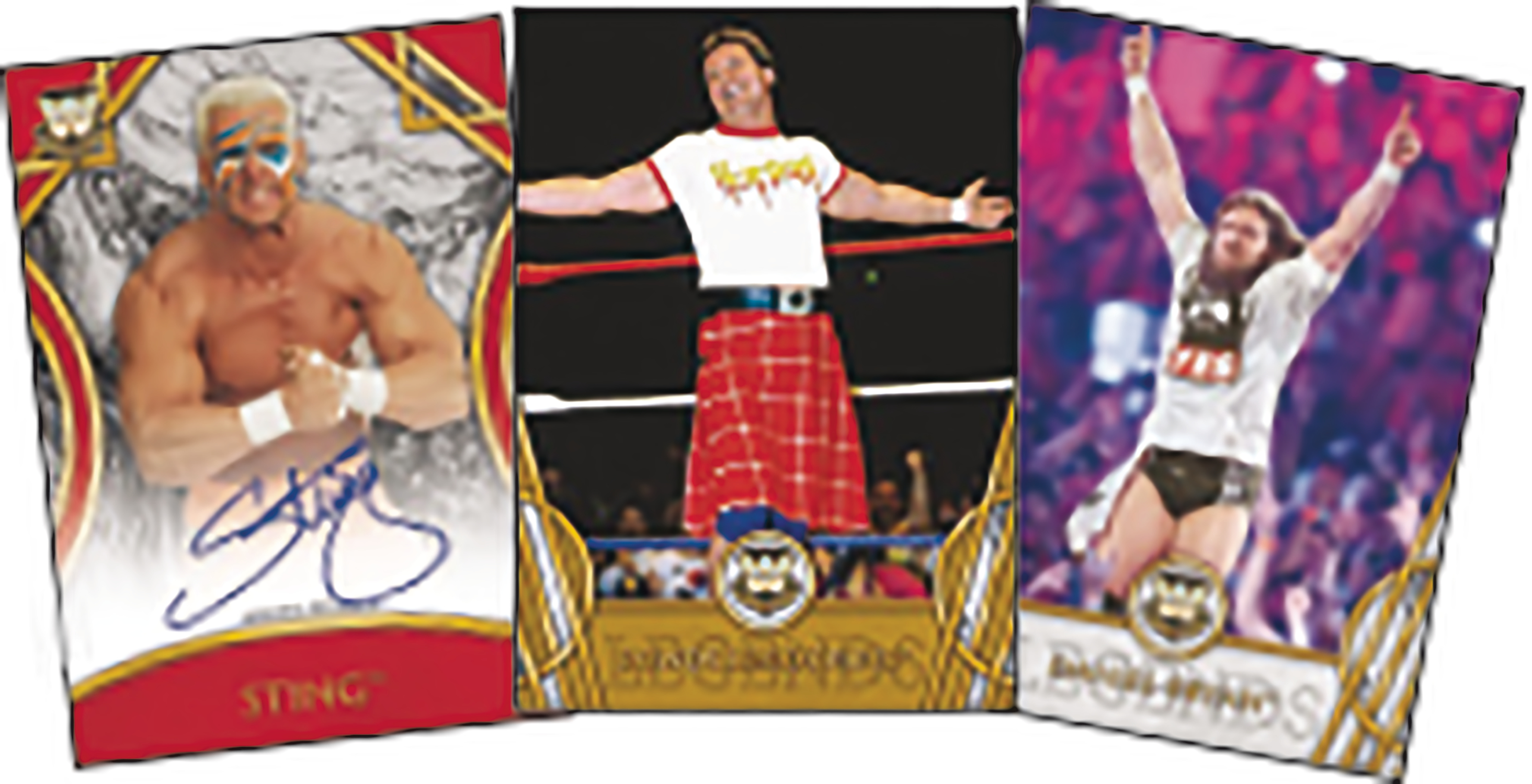 TOPPS 2018 LEGENDS OF WWE T/C BOX