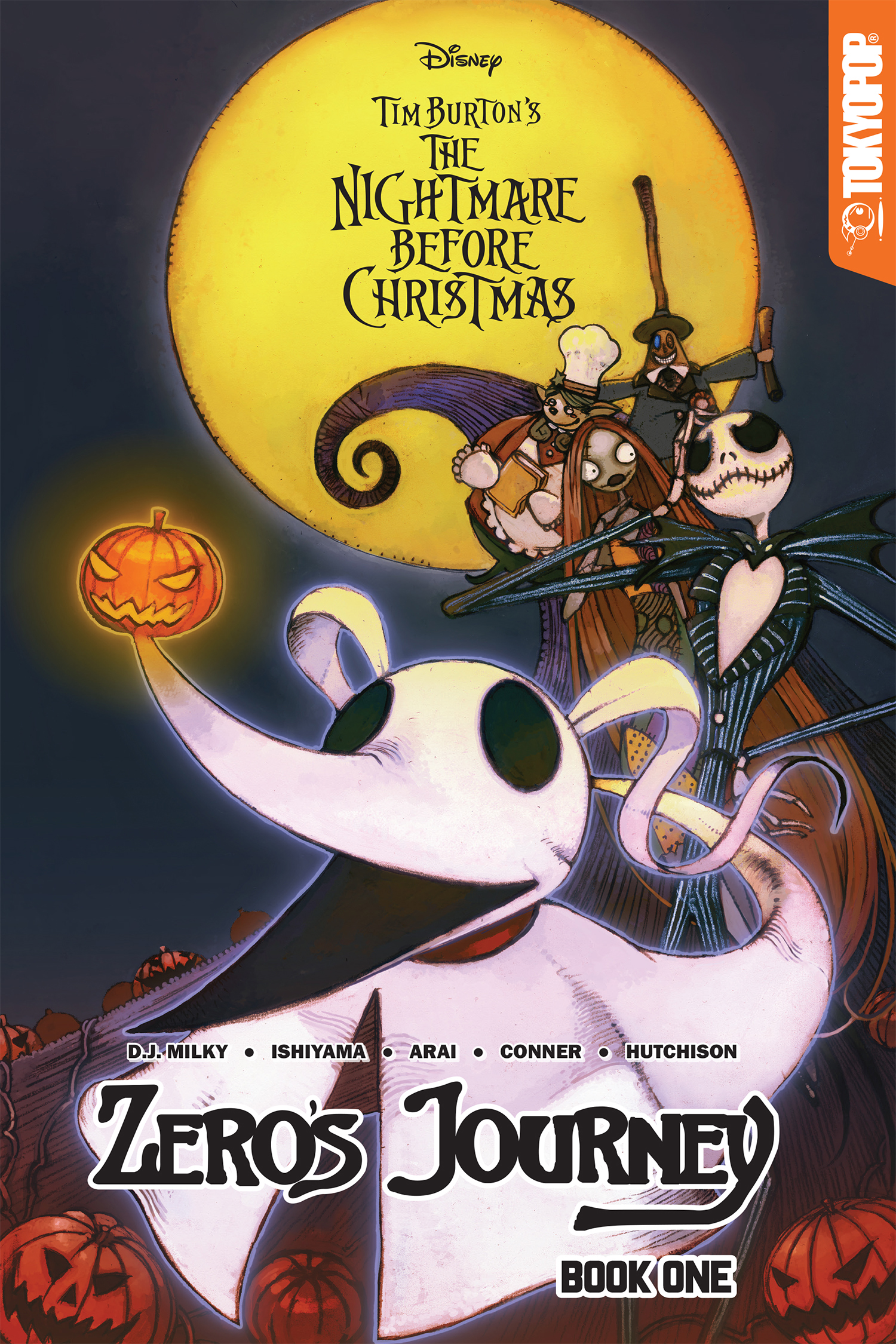 DISNEY MANGA NIGHTMARE CHRISTMAS ZEROS JOURNEY TP VOL 01 (JU