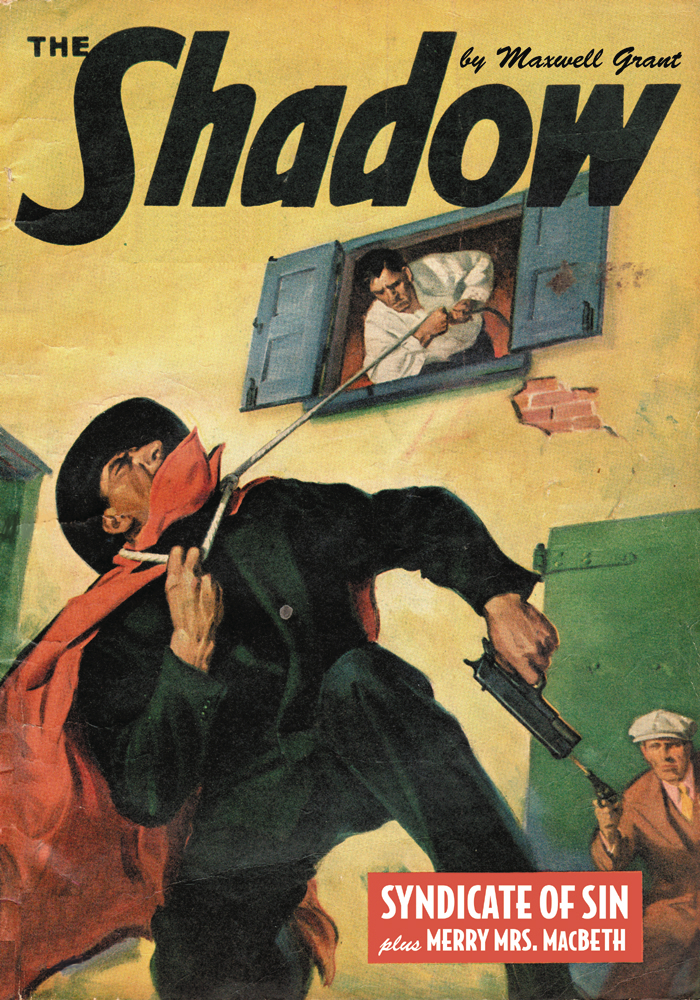 SHADOW DOUBLE NOVEL VOL 133 SYNDICATE OF SIN MERRY MRS MACBE
