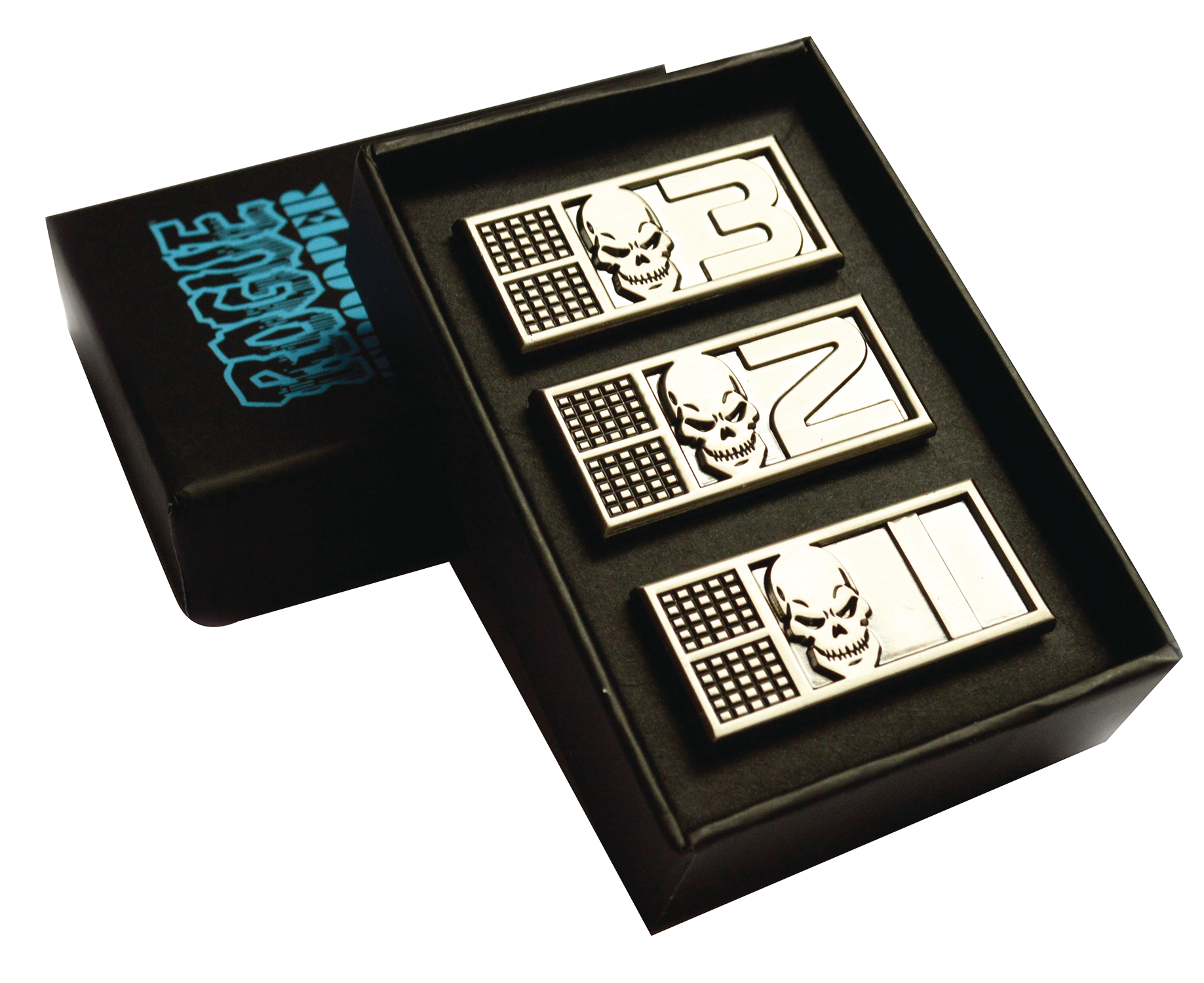 ROGUE TROOPER BIOCHIP METAL PIN BADGE SET