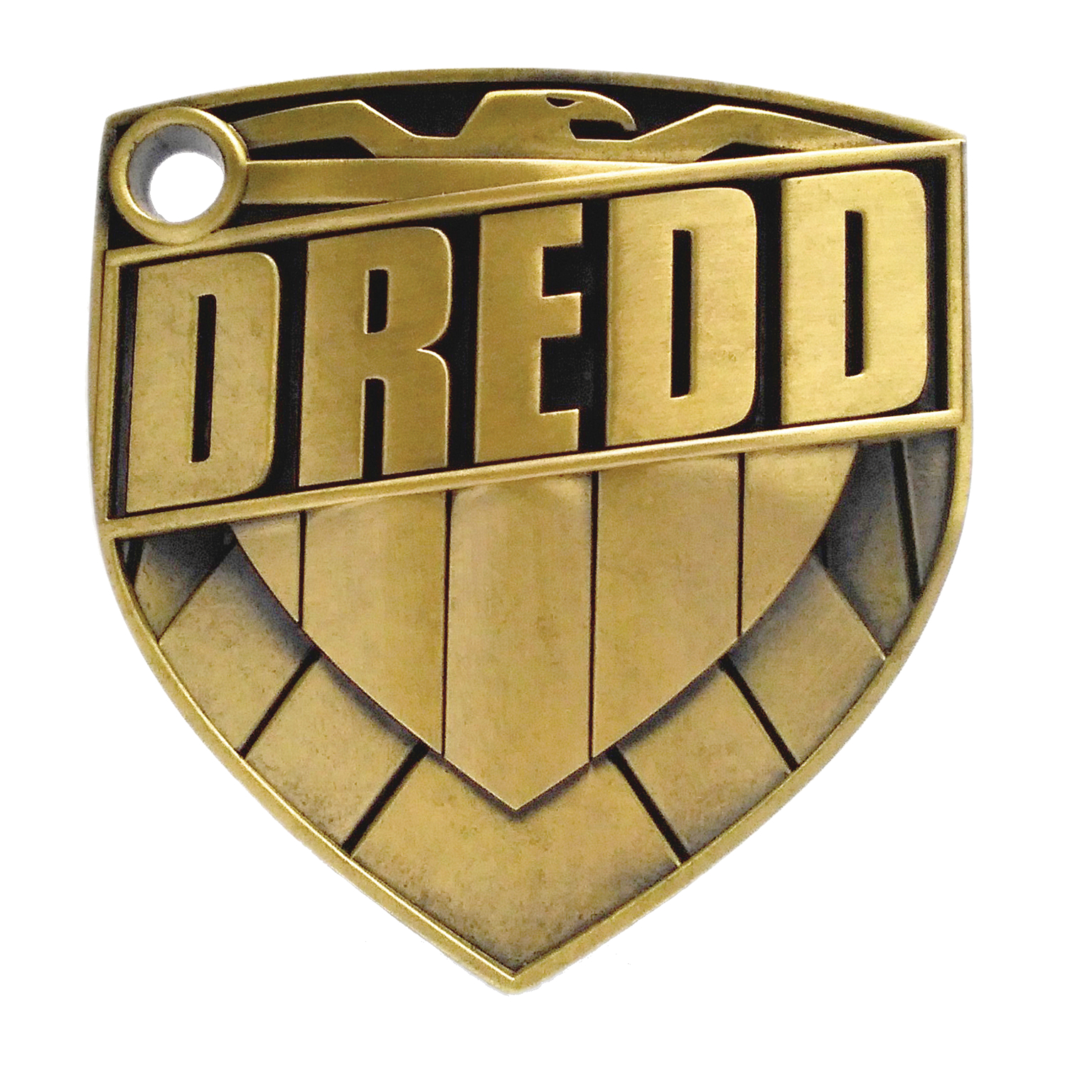JUDGE DREDD METAL BADGE BY JOCK 1:1 PROP REPLICA