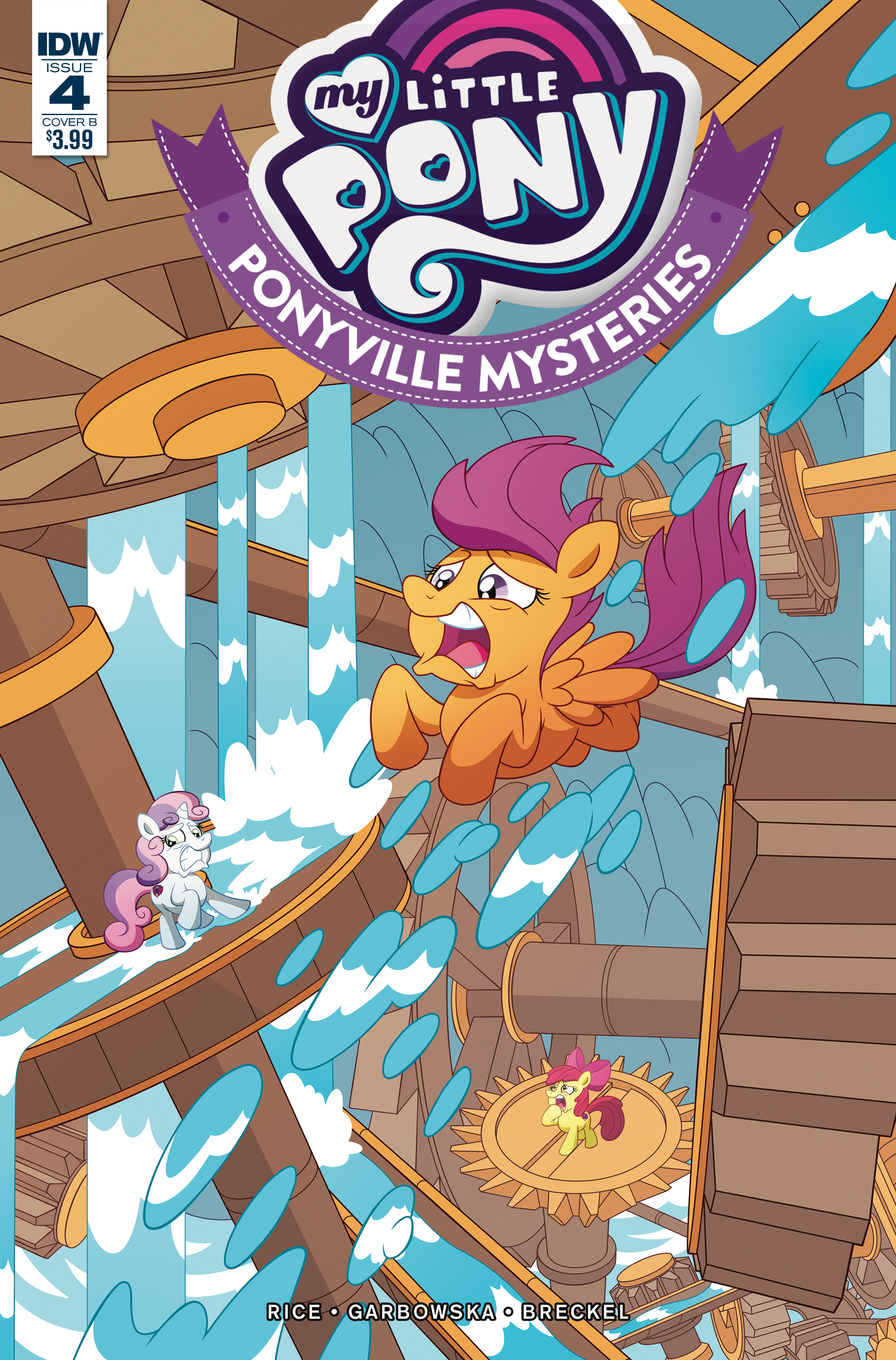 MY LITTLE PONY PONYVILLE MYSTERIES #4 CVR B MURPHY
