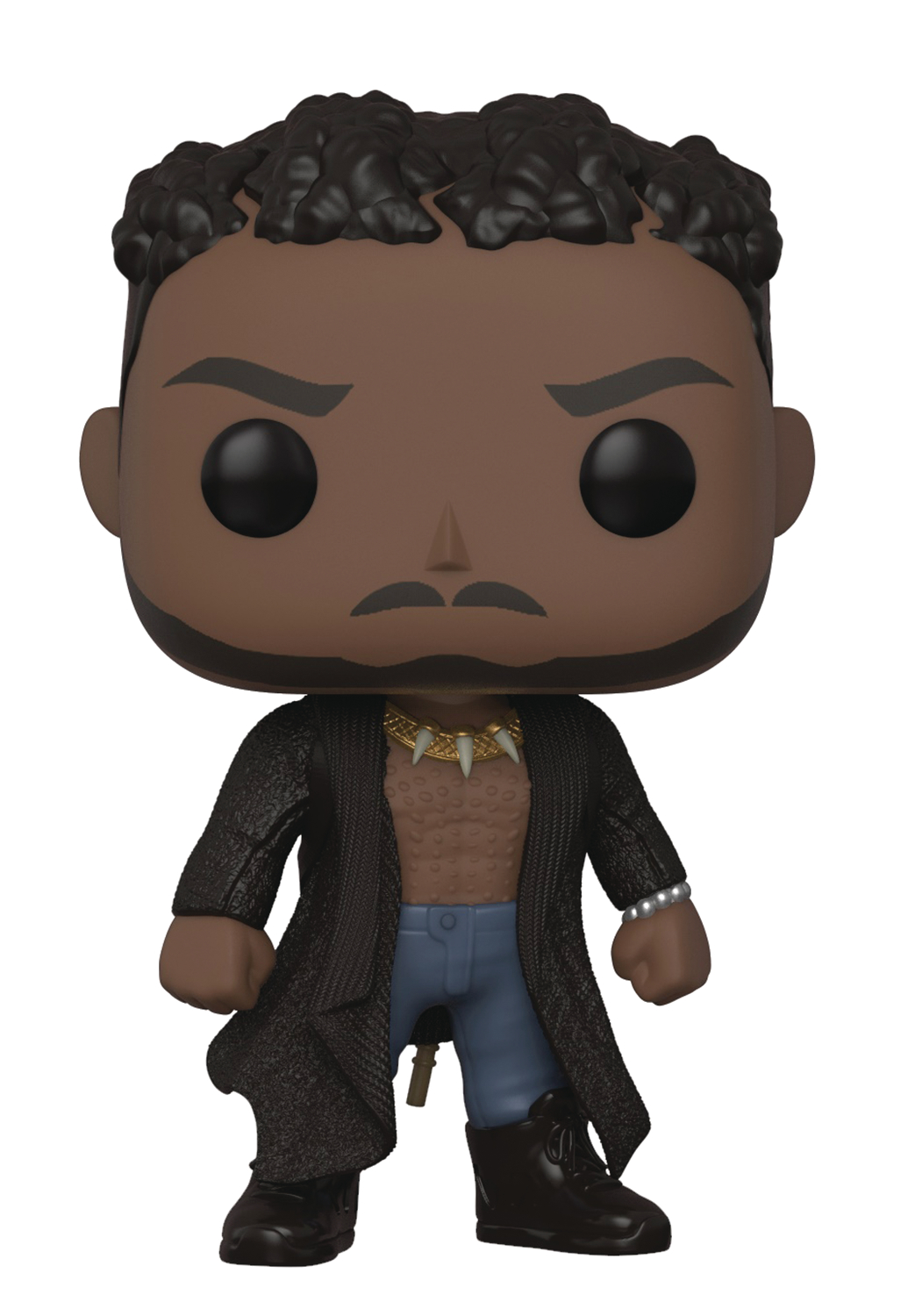 POP MARVEL BLACK PANTHER ERIK KILLMONGER VIN FIG