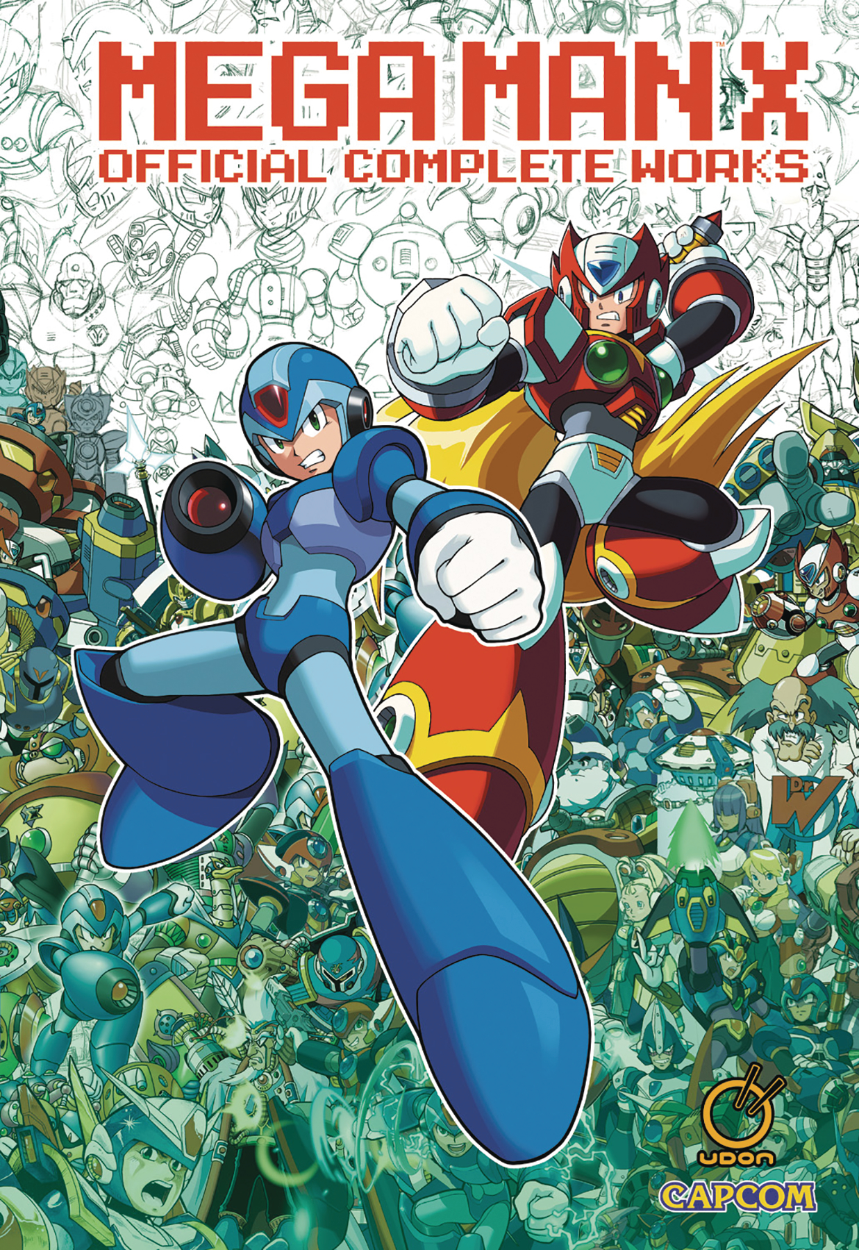 MEGA MAN X OFFICIAL COMPLETE WORKS HC