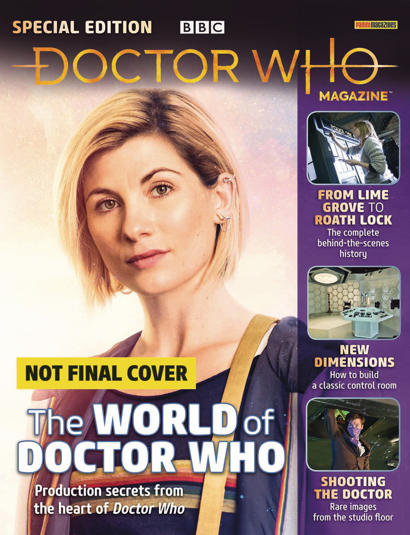 DOCTOR WHO MAGAZINE SPECIAL #50