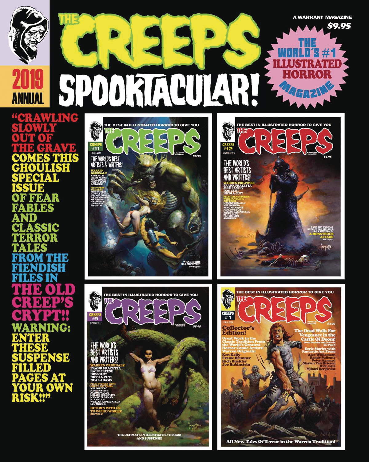 THE CREEPS ANNUAL #1 2019 SPOOKTACULAR (MR)