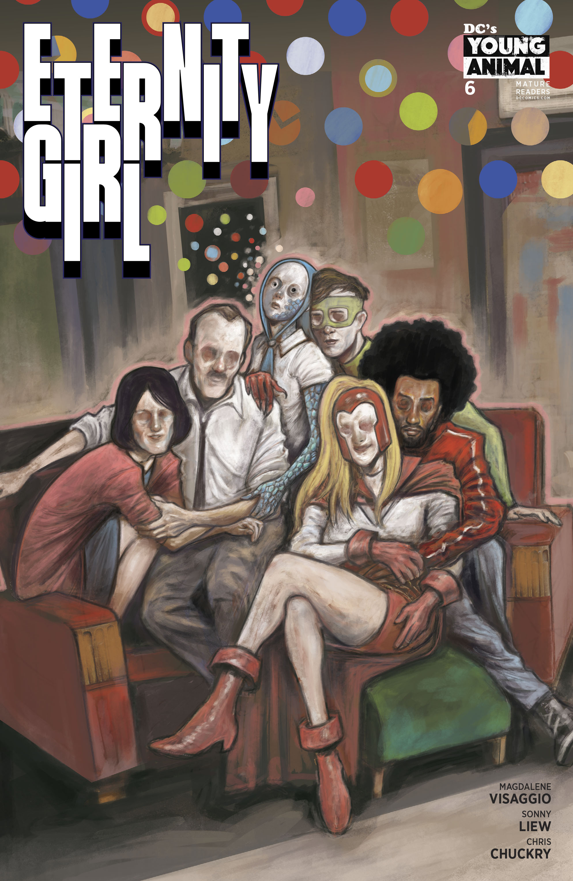ETERNITY GIRL #6 (OF 6) (MR)