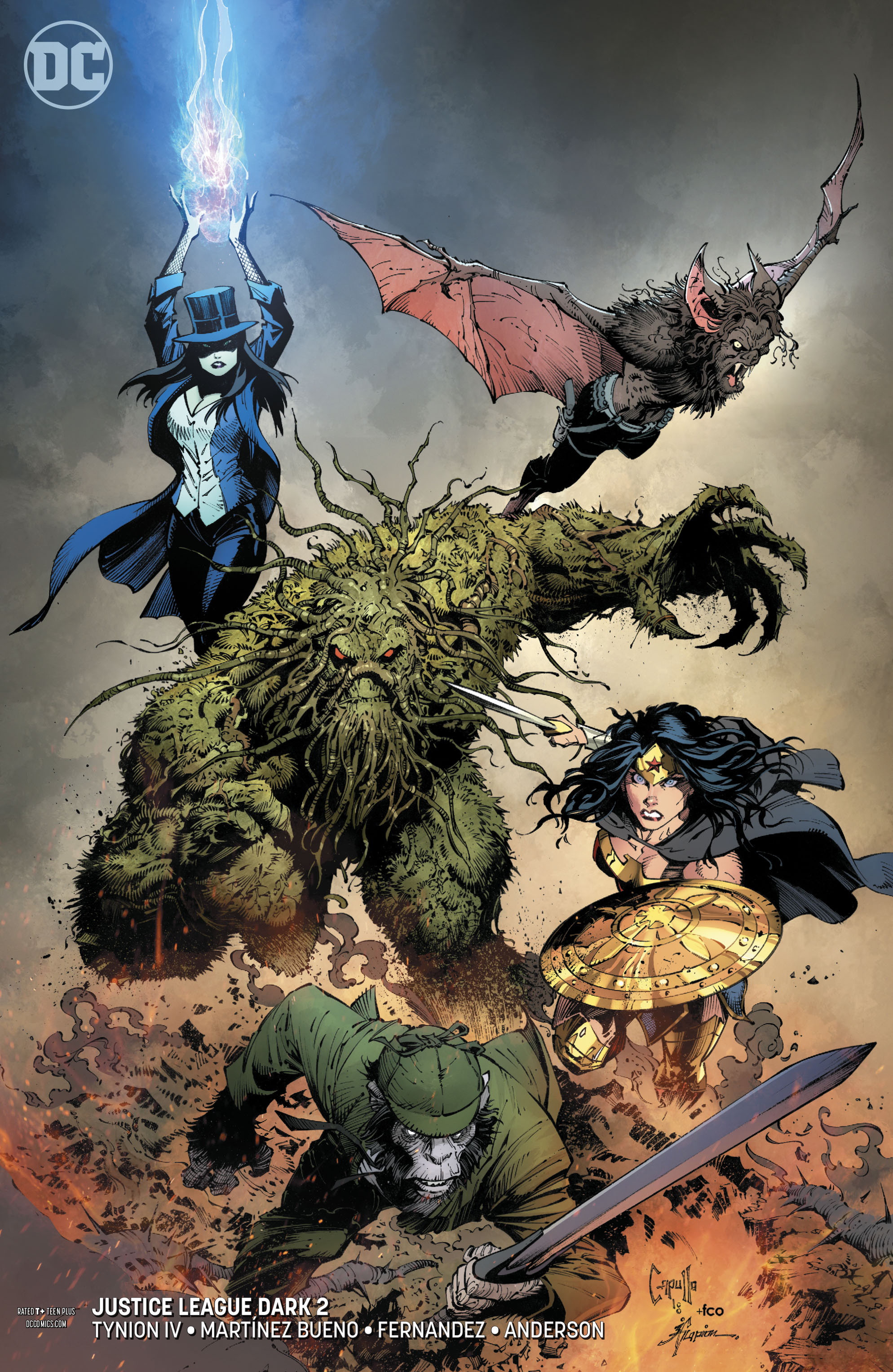 JUSTICE LEAGUE DARK #2 VAR ED