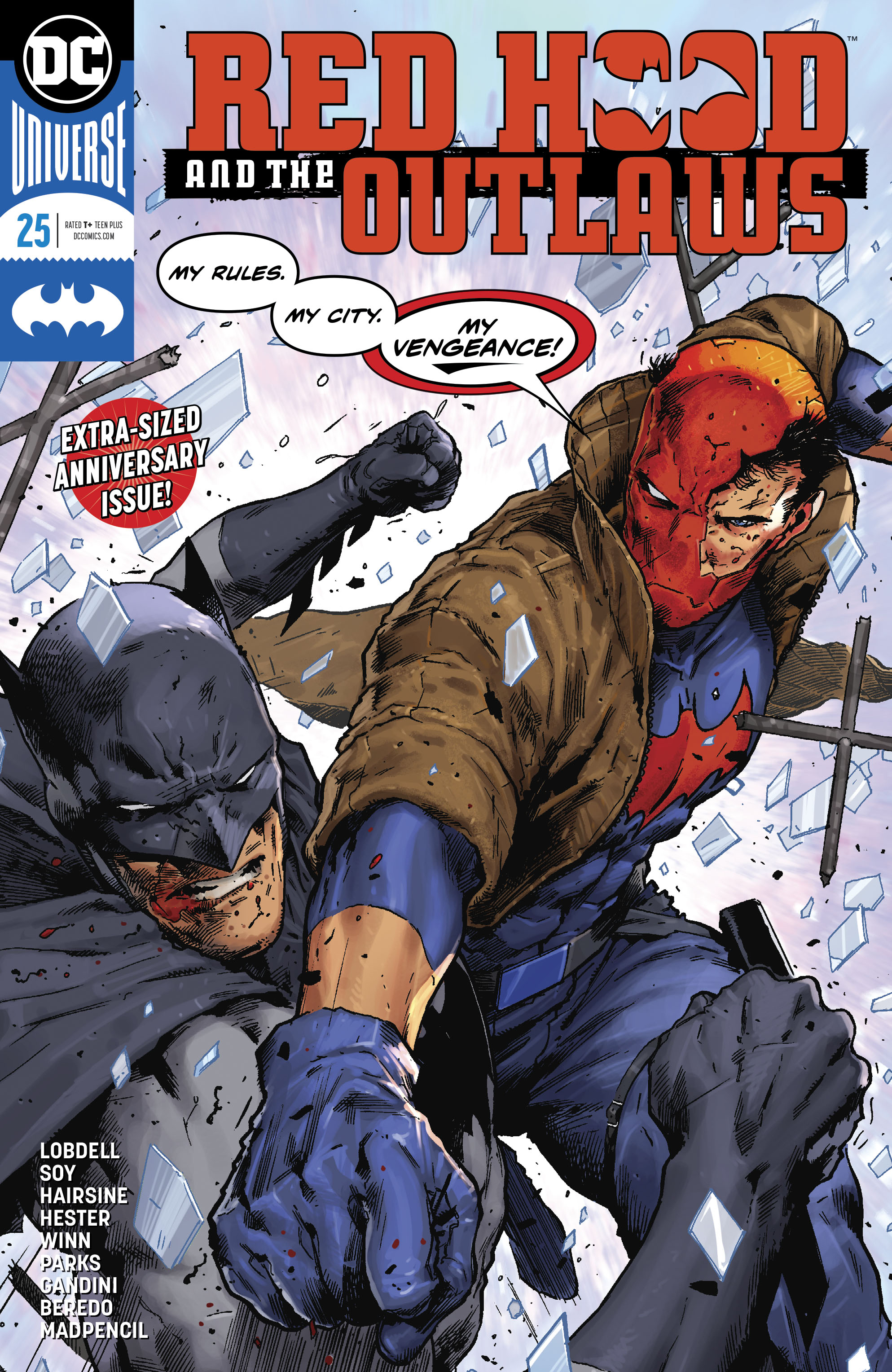 RED HOOD AND THE OUTLAWS #25