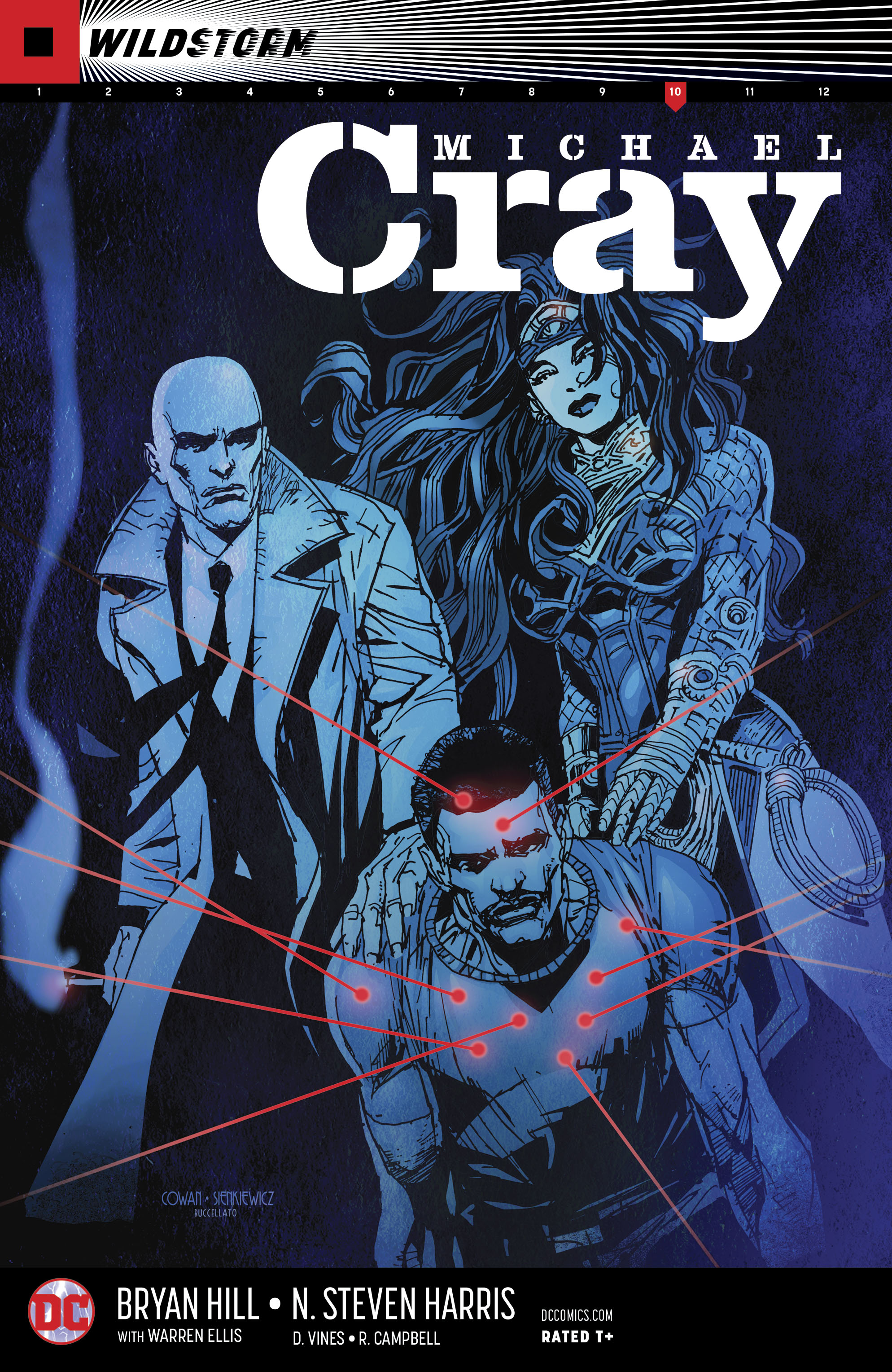 WILDSTORM MICHAEL CRAY #10