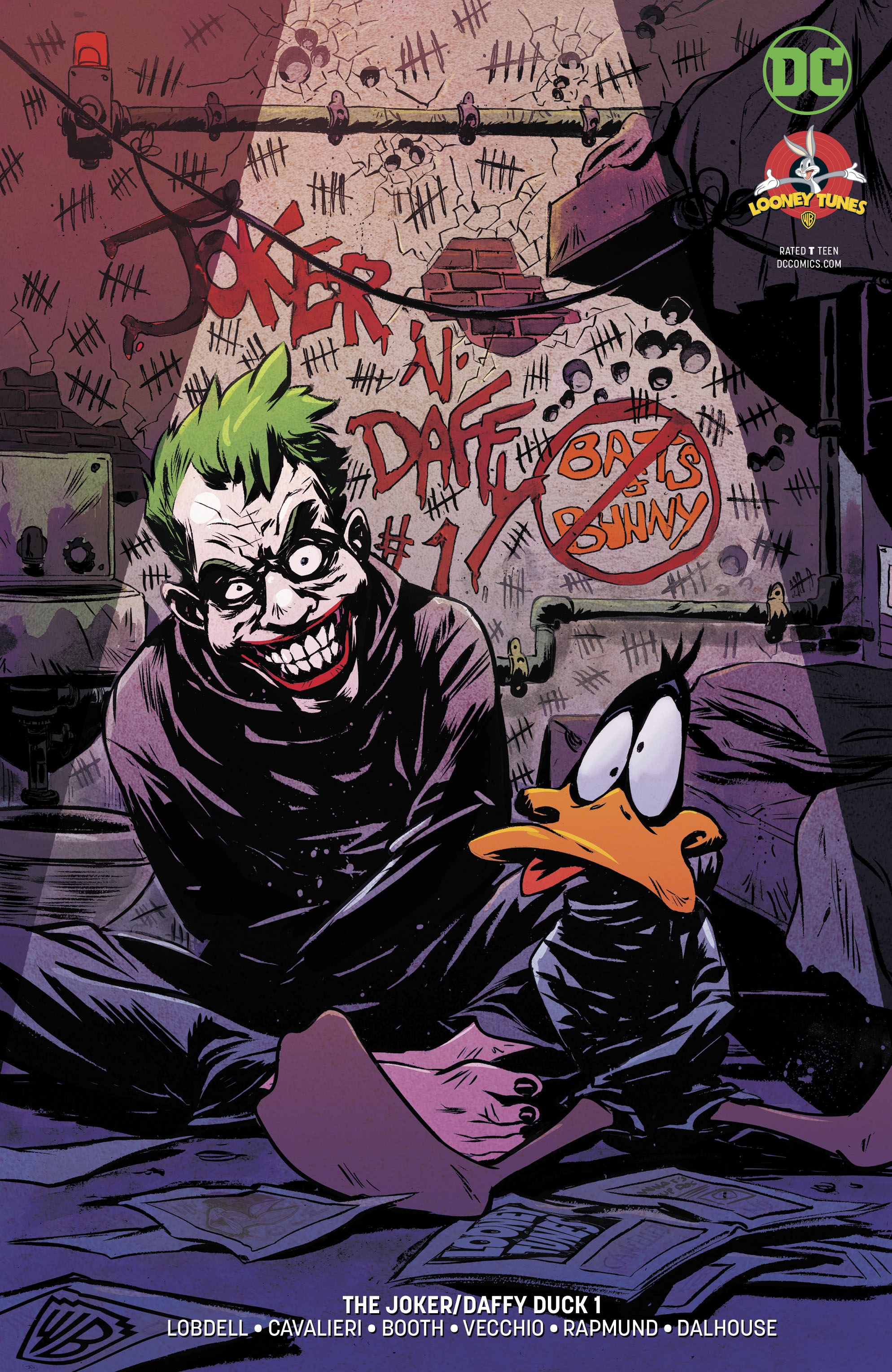 JOKER DAFFY DUCK SPECIAL #1 VAR ED
