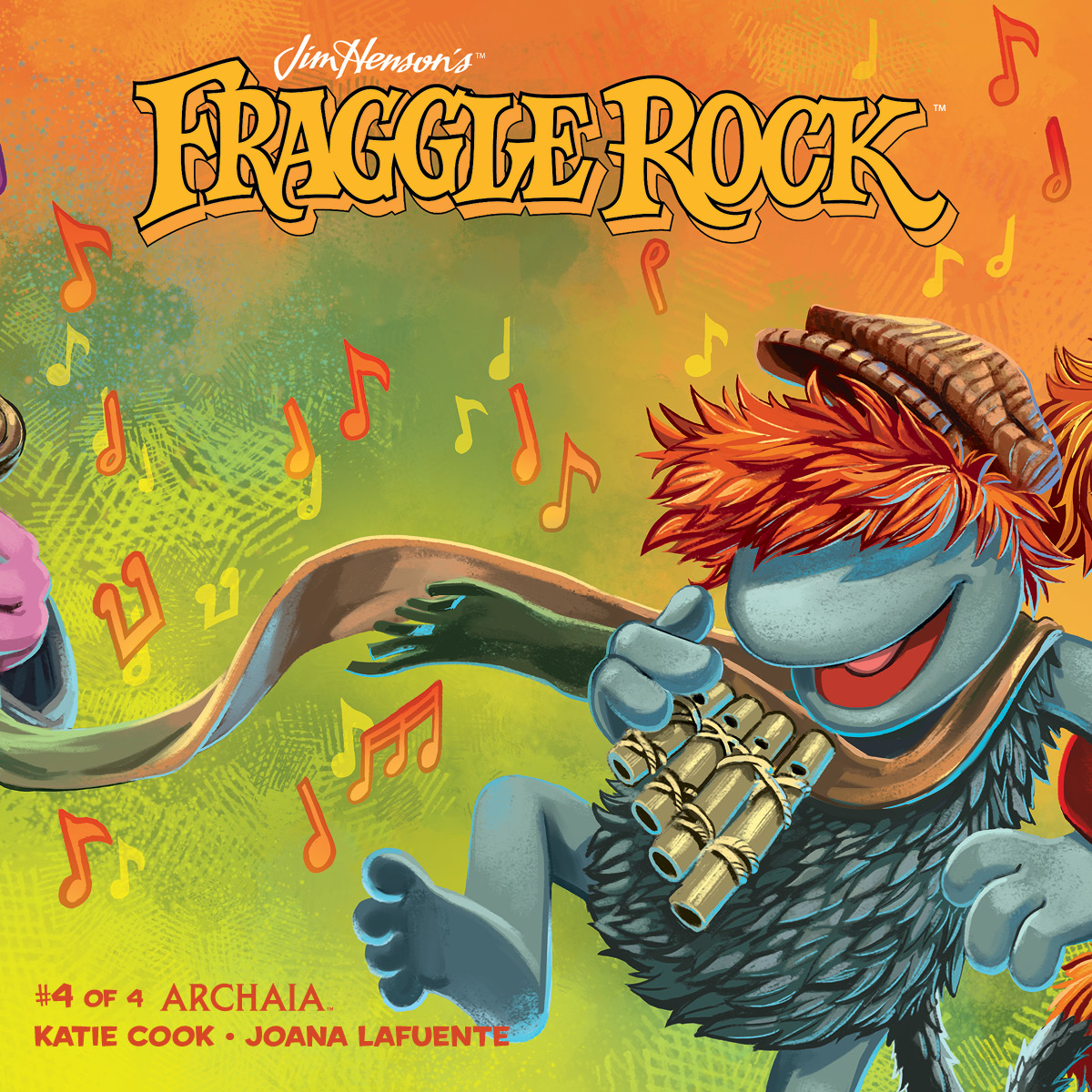 JIM HENSON FRAGGLE ROCK #4 SUBSCRIPTION MYLER CVR
