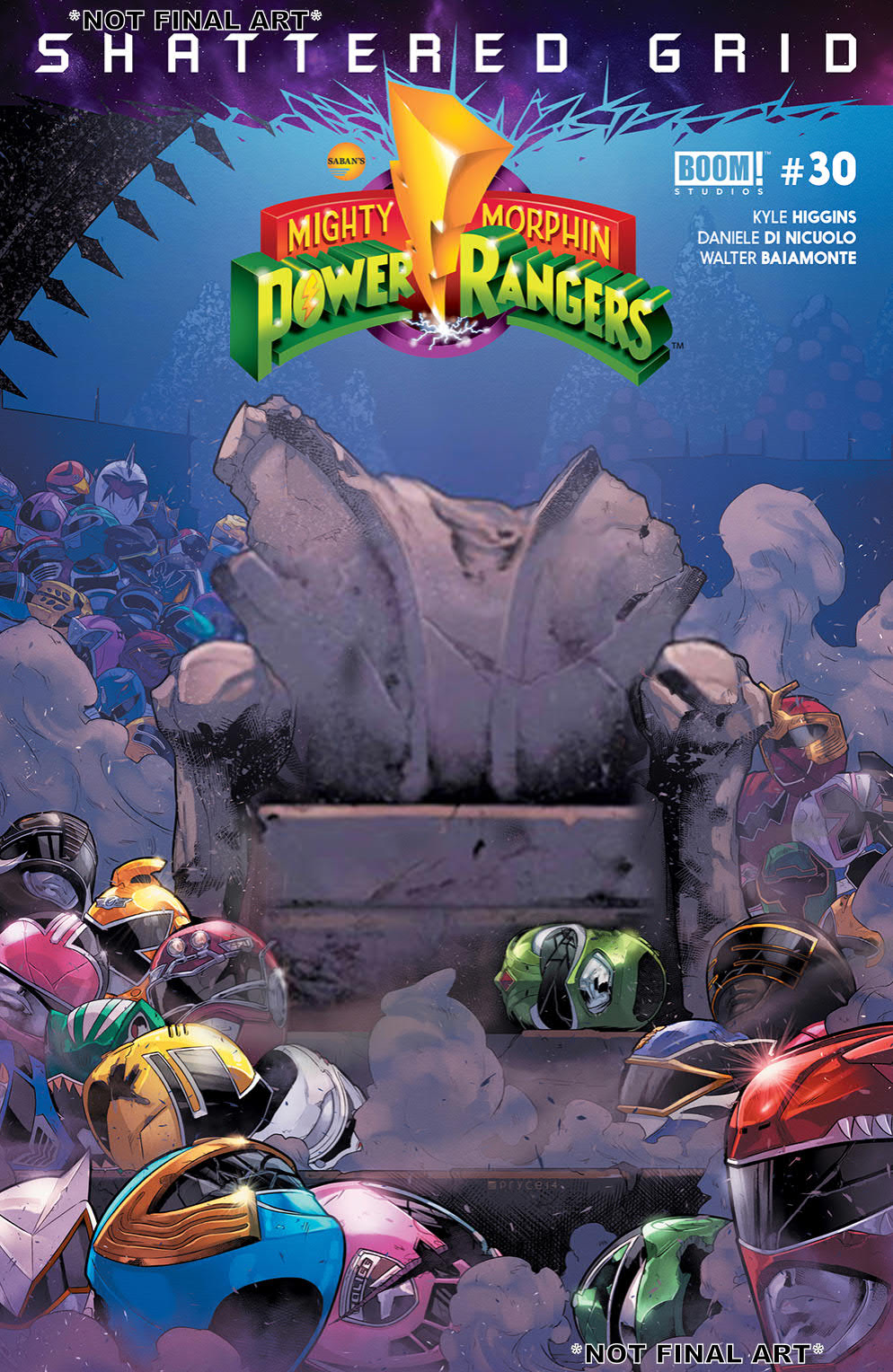 MIGHTY MORPHIN POWER RANGERS #30 MAIN SG