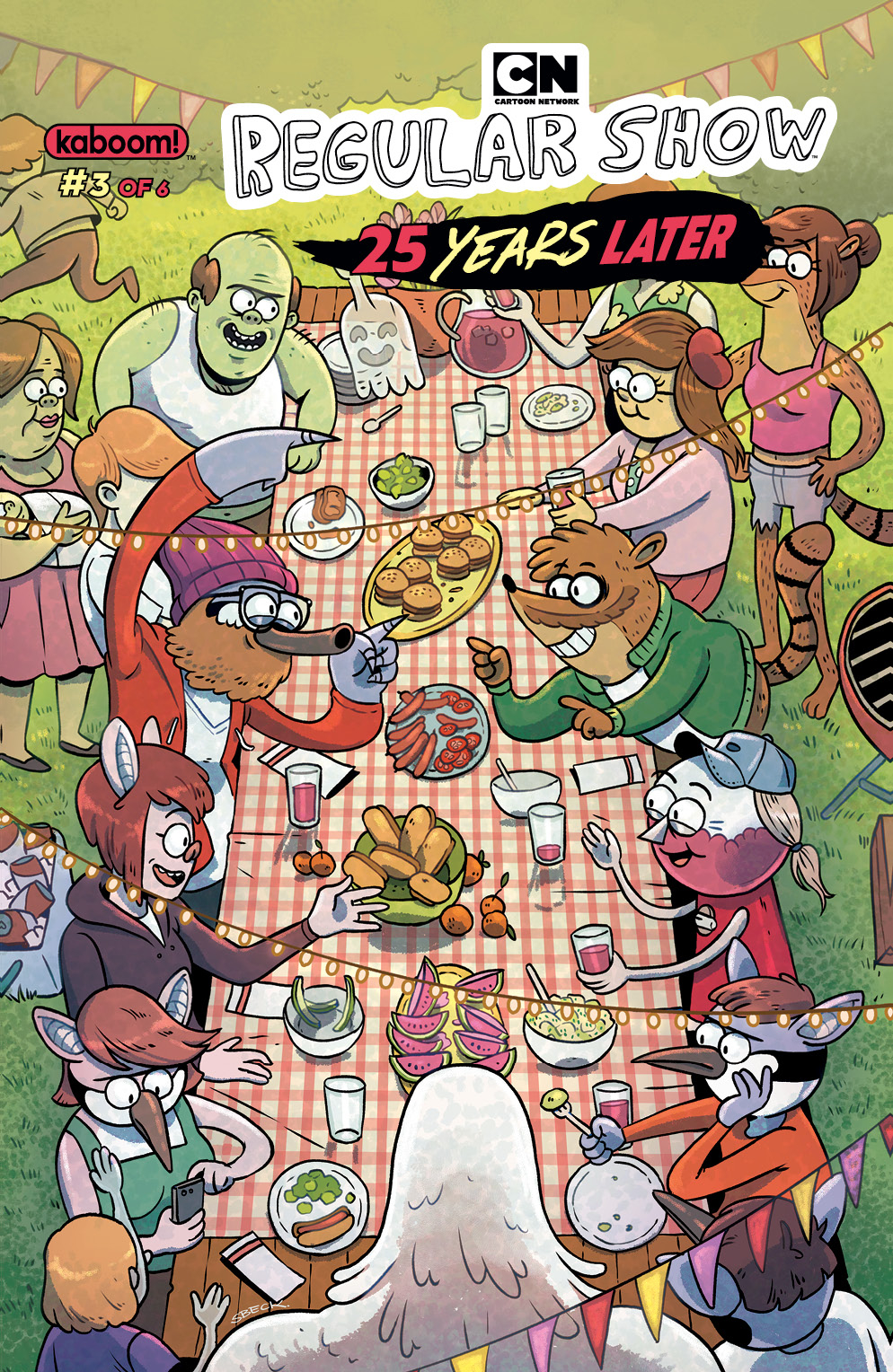 REGULAR SHOW 25 YEARS LATER #3 SUBSCRIPTION BECK VAR