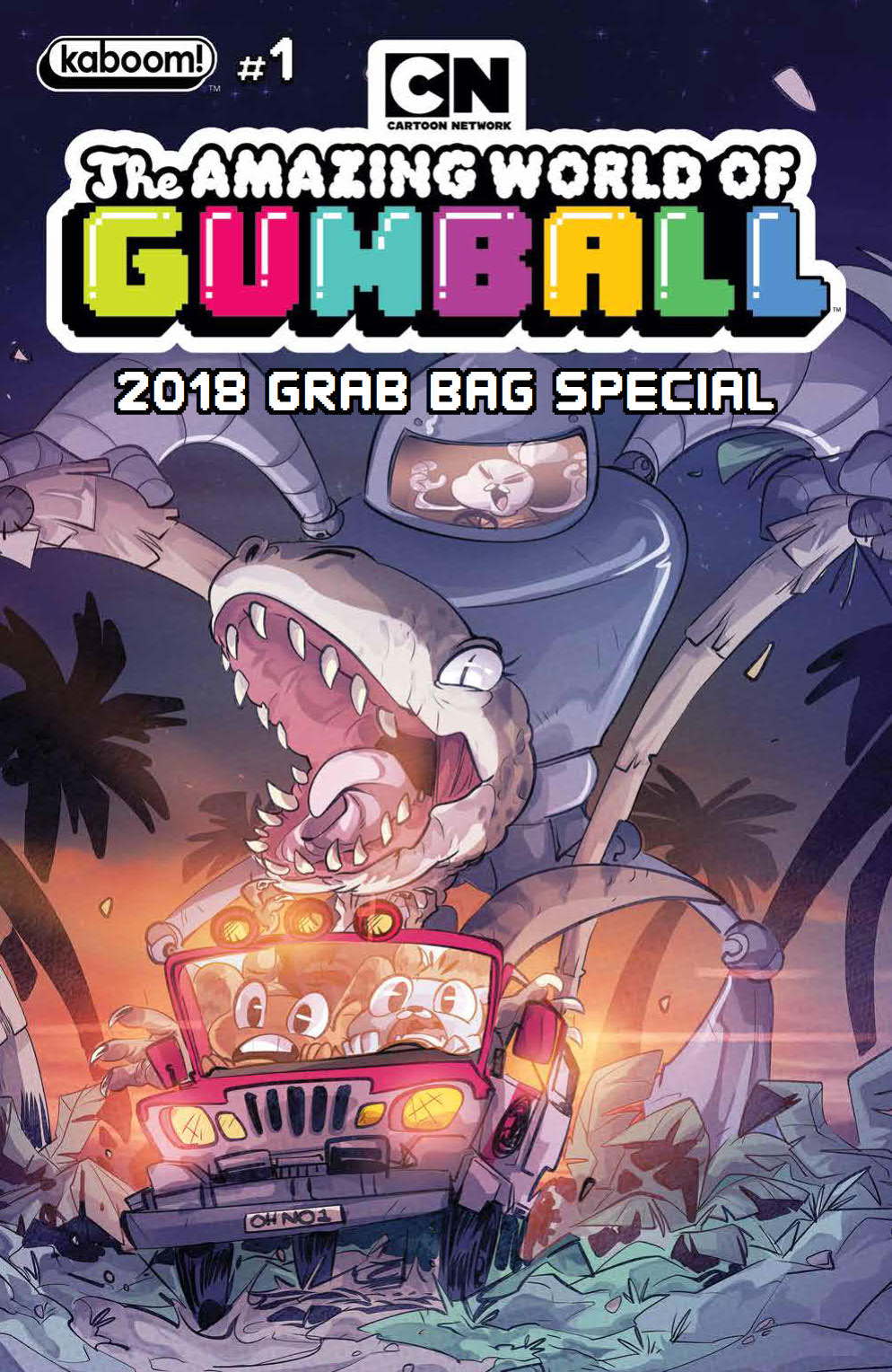 AMAZING WORLD OF GUMBALL GRAB BAG 2018