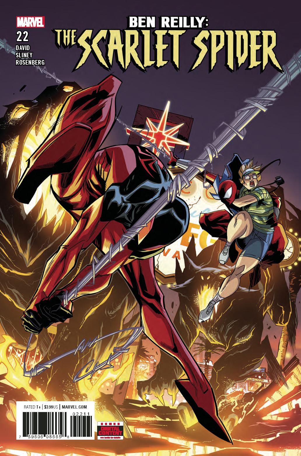 BEN REILLY SCARLET SPIDER #22