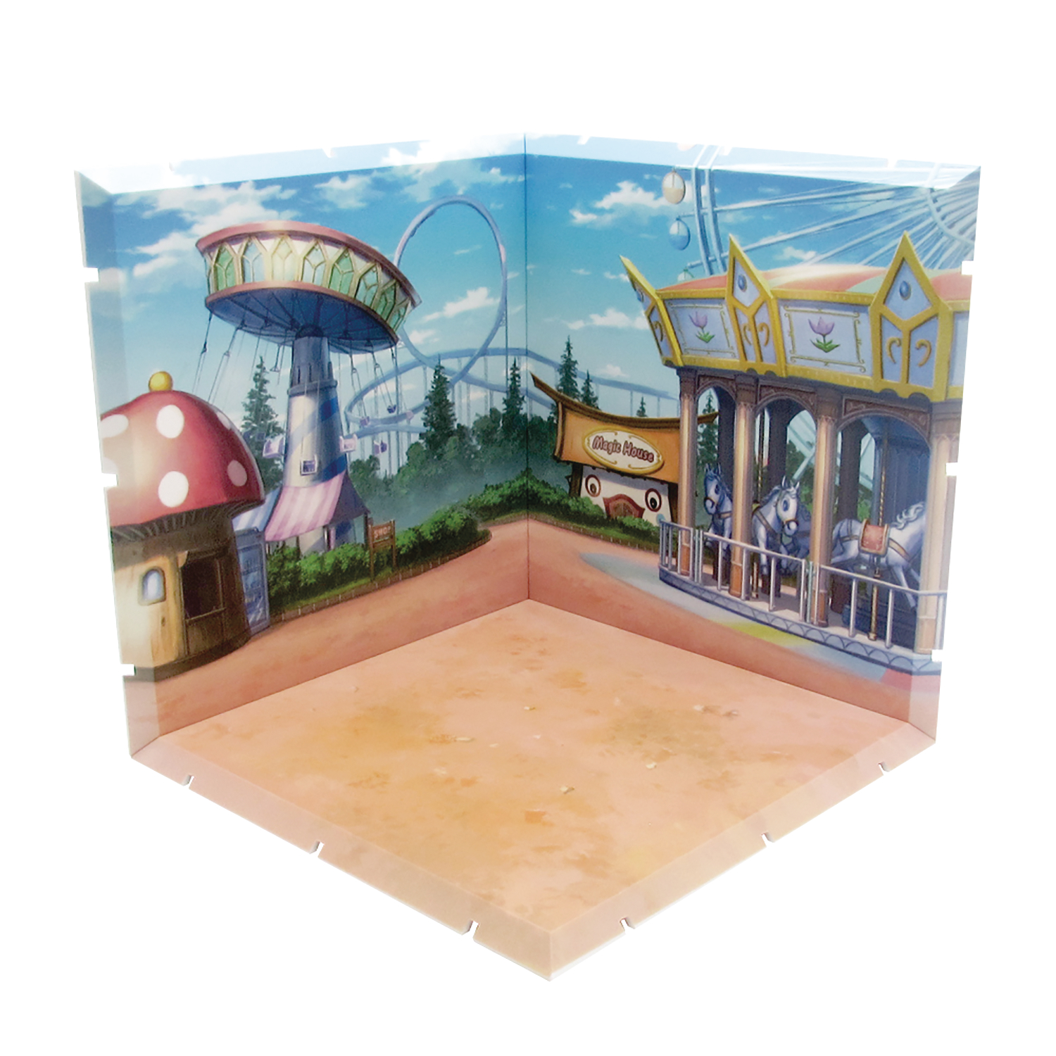 DIORAMANSION 150 AMUSEMENT PARK FIGURE DIORAMA