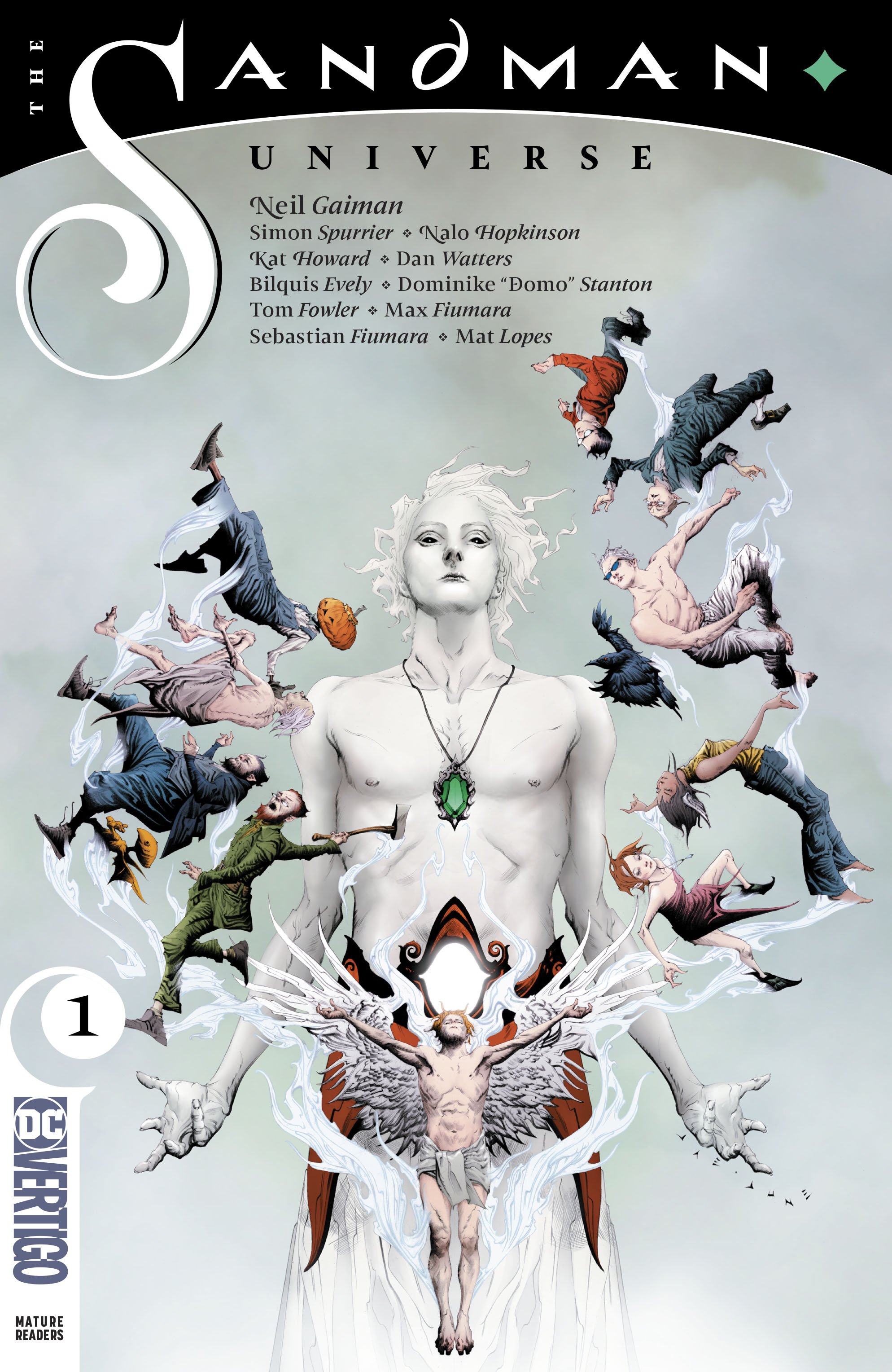 Image result for sandman universe issue 1