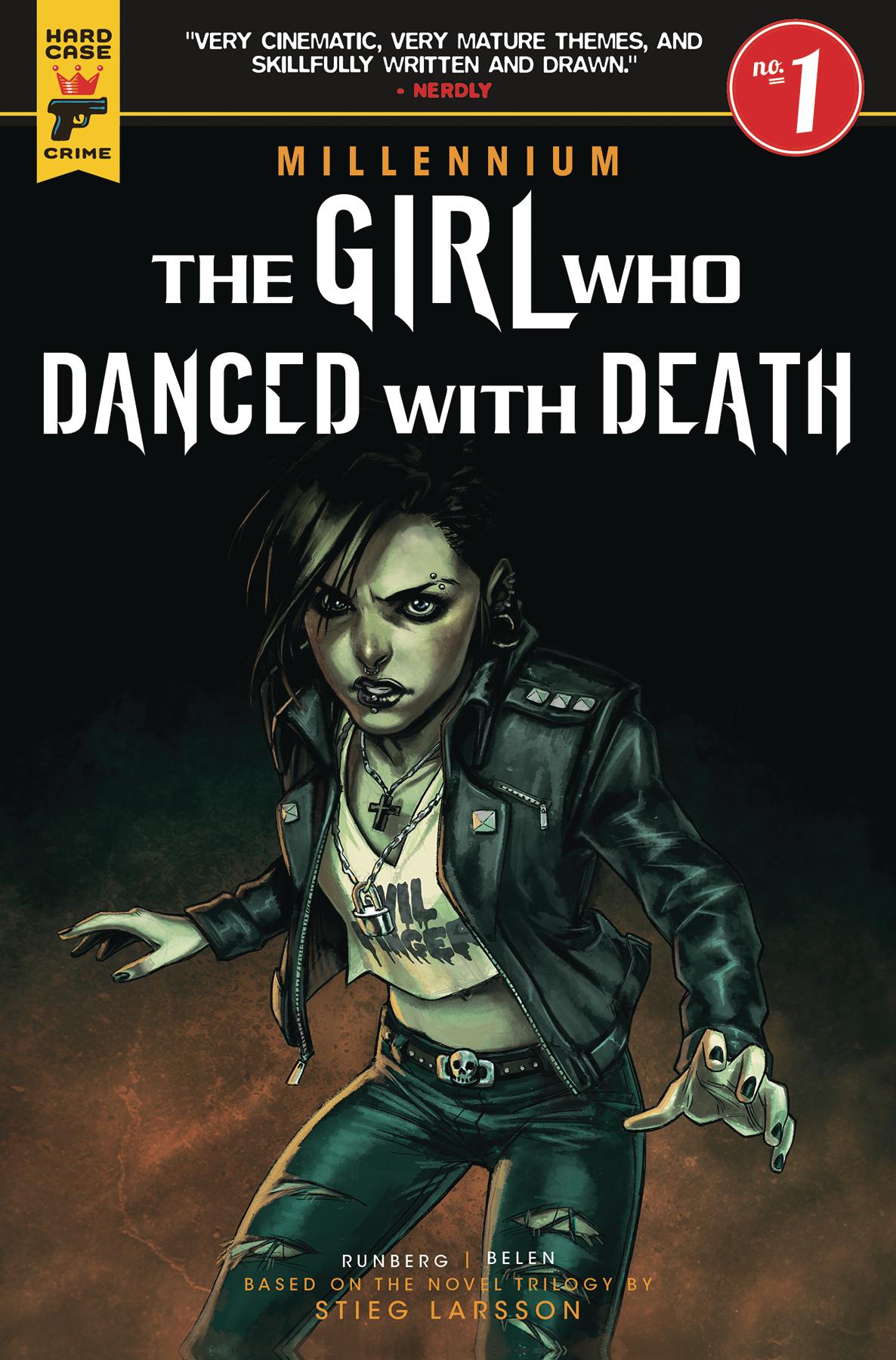 GIRL WHO DANCED WITH DEATH MILL SAGA #1 (OF 3) CVR ORTEGA