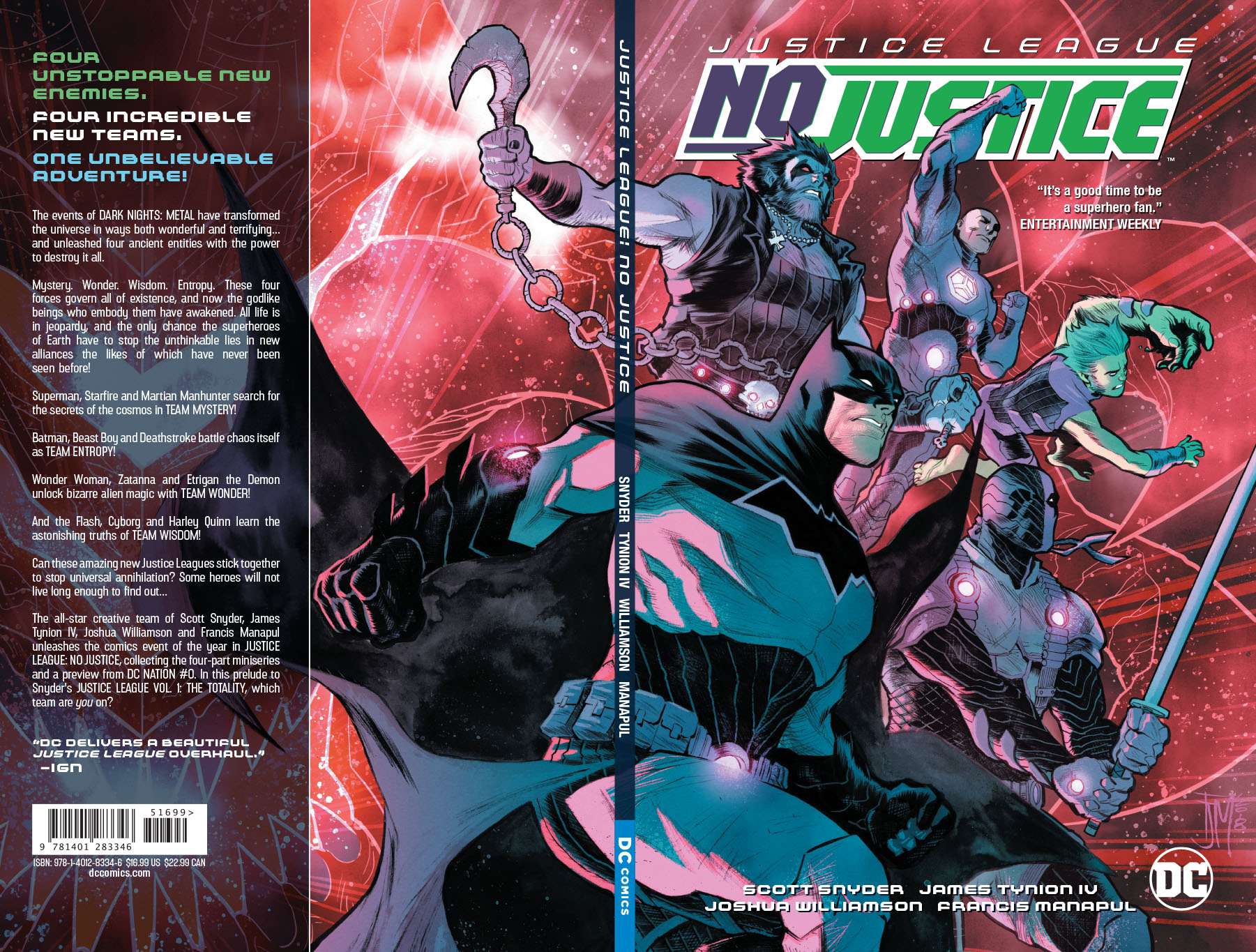 JUSTICE LEAGUE NO JUSTICE TP