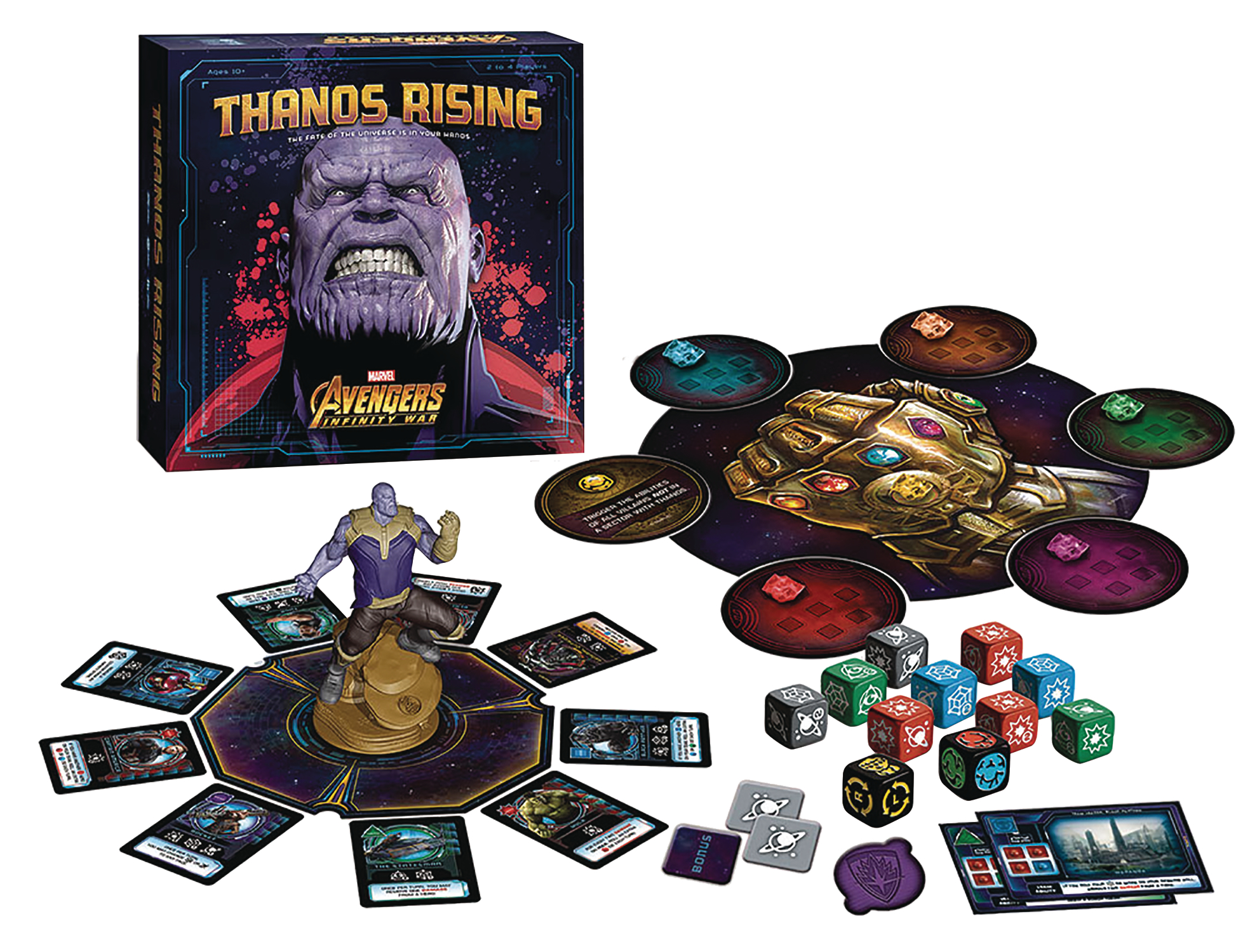 THANOS RISING AVENGERS INFINITY WAR BOARD GAME